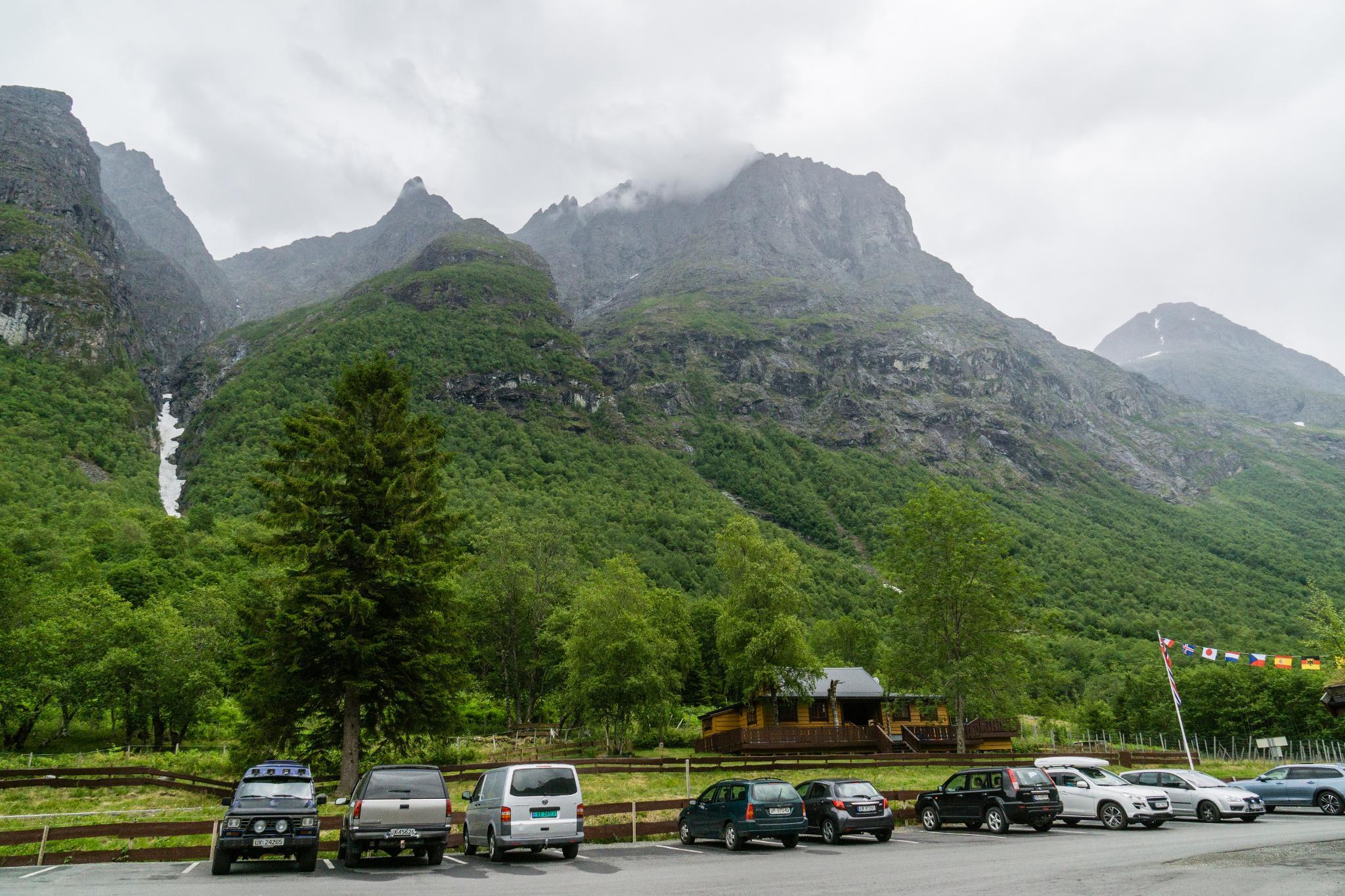 【北歐露營】在妖精出沒的峽谷中露營 - Trollstigen Camping 5