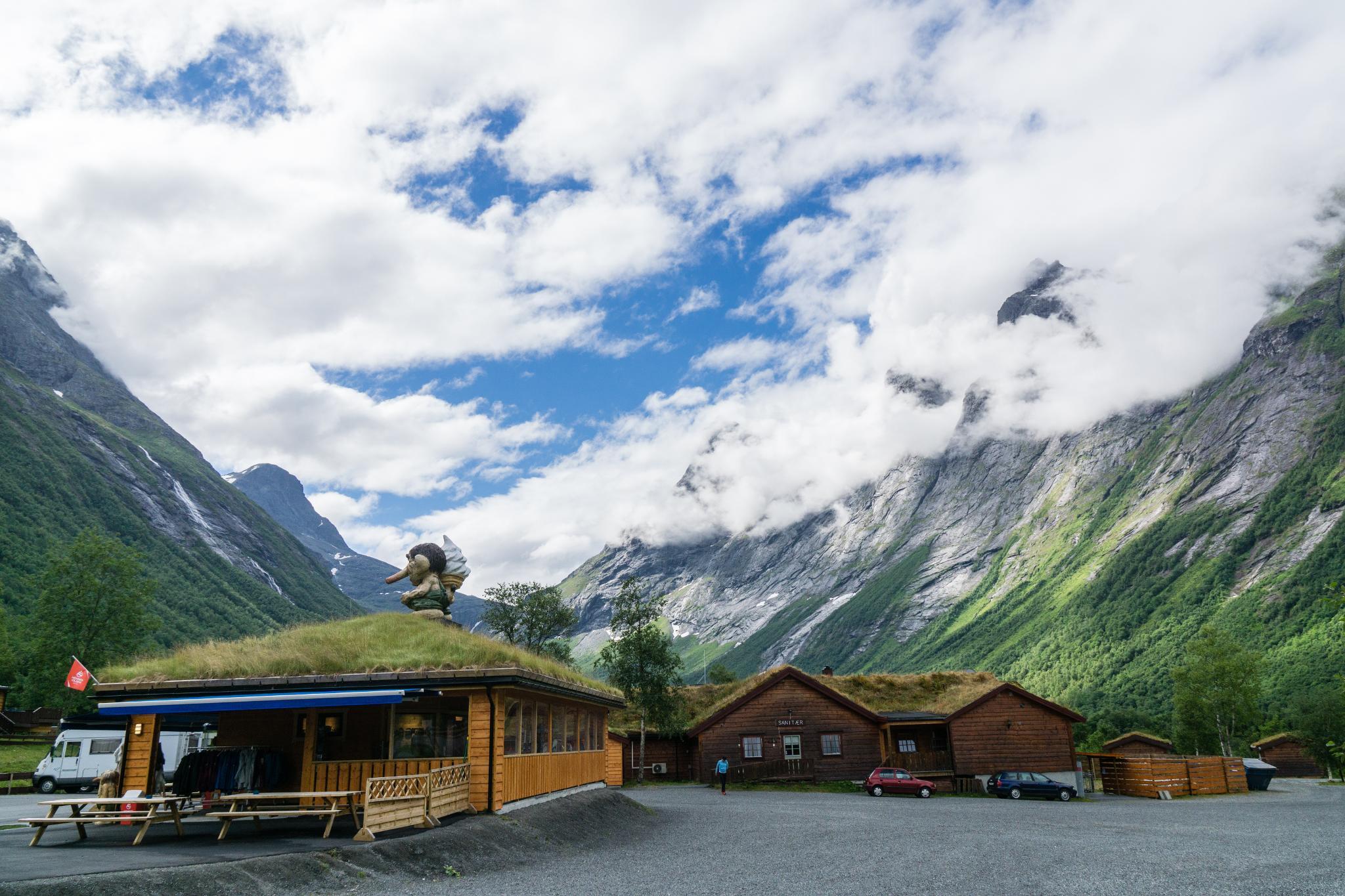 【北歐露營】在妖精出沒的峽谷中露營 - Trollstigen Camping 10
