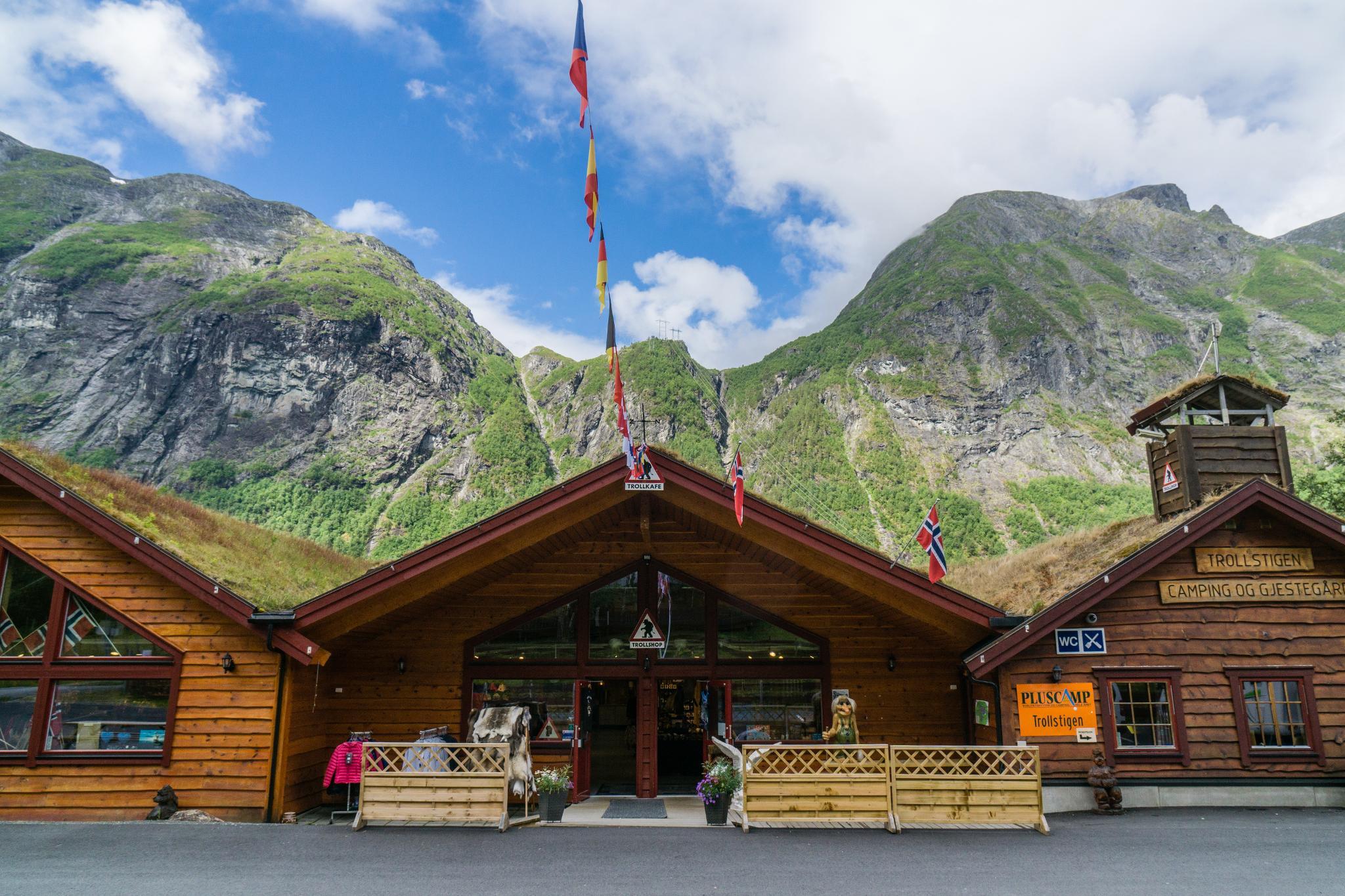【北歐露營】在妖精出沒的峽谷中露營 - Trollstigen Camping 8