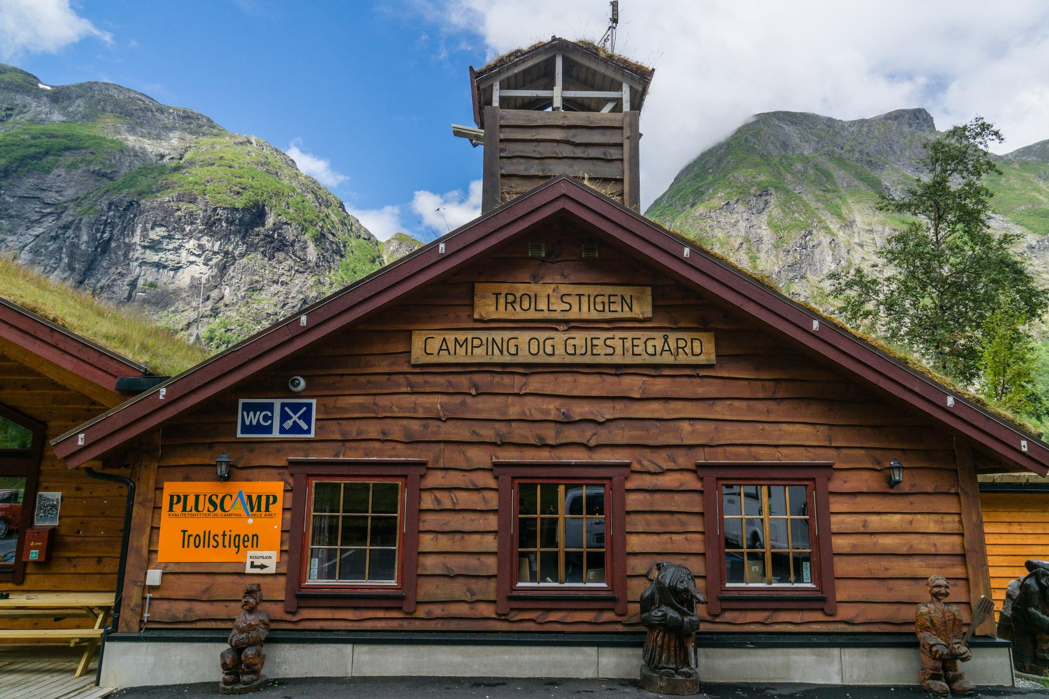 【北歐露營】在妖精出沒的峽谷中露營 - Trollstigen Camping 9
