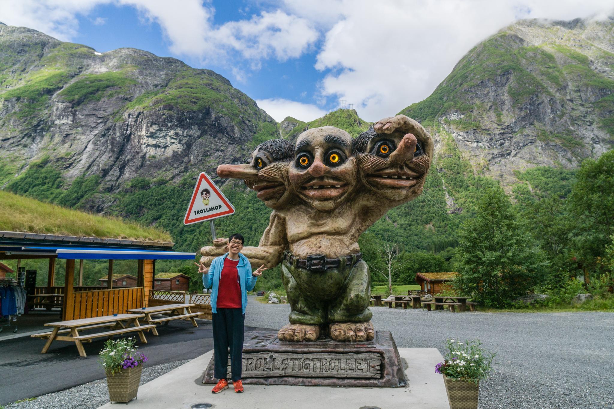 【北歐露營】在妖精出沒的峽谷中露營 - Trollstigen Camping 6