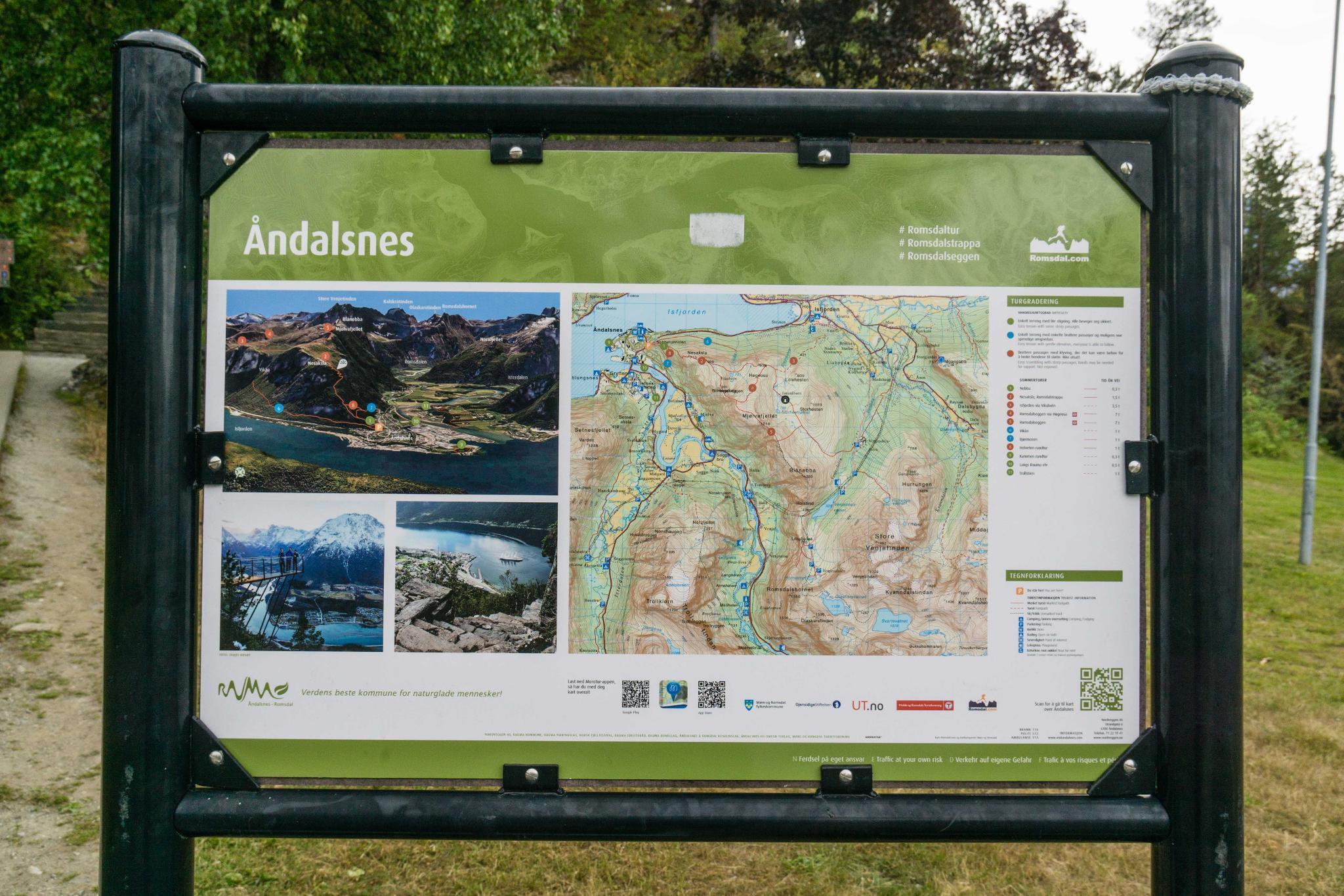 【北歐景點】峽灣區起點Åndalsnes健行 - 鳥瞰峽灣全景的Rampestreken觀景台 8