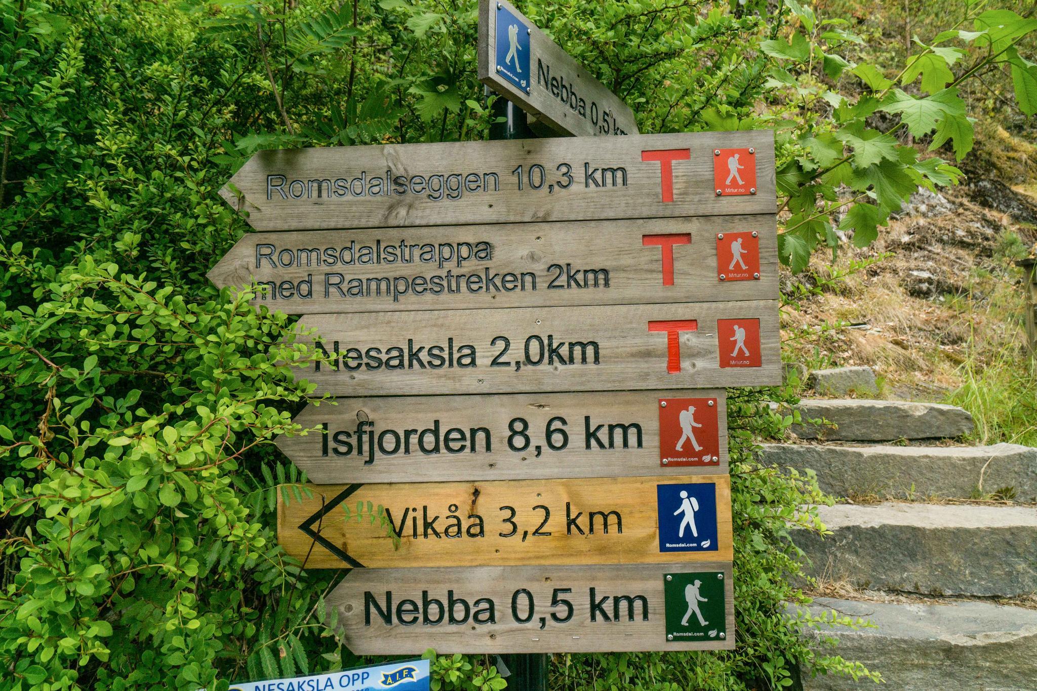【北歐景點】峽灣區起點Åndalsnes健行 - 鳥瞰峽灣全景的Rampestreken觀景台 9