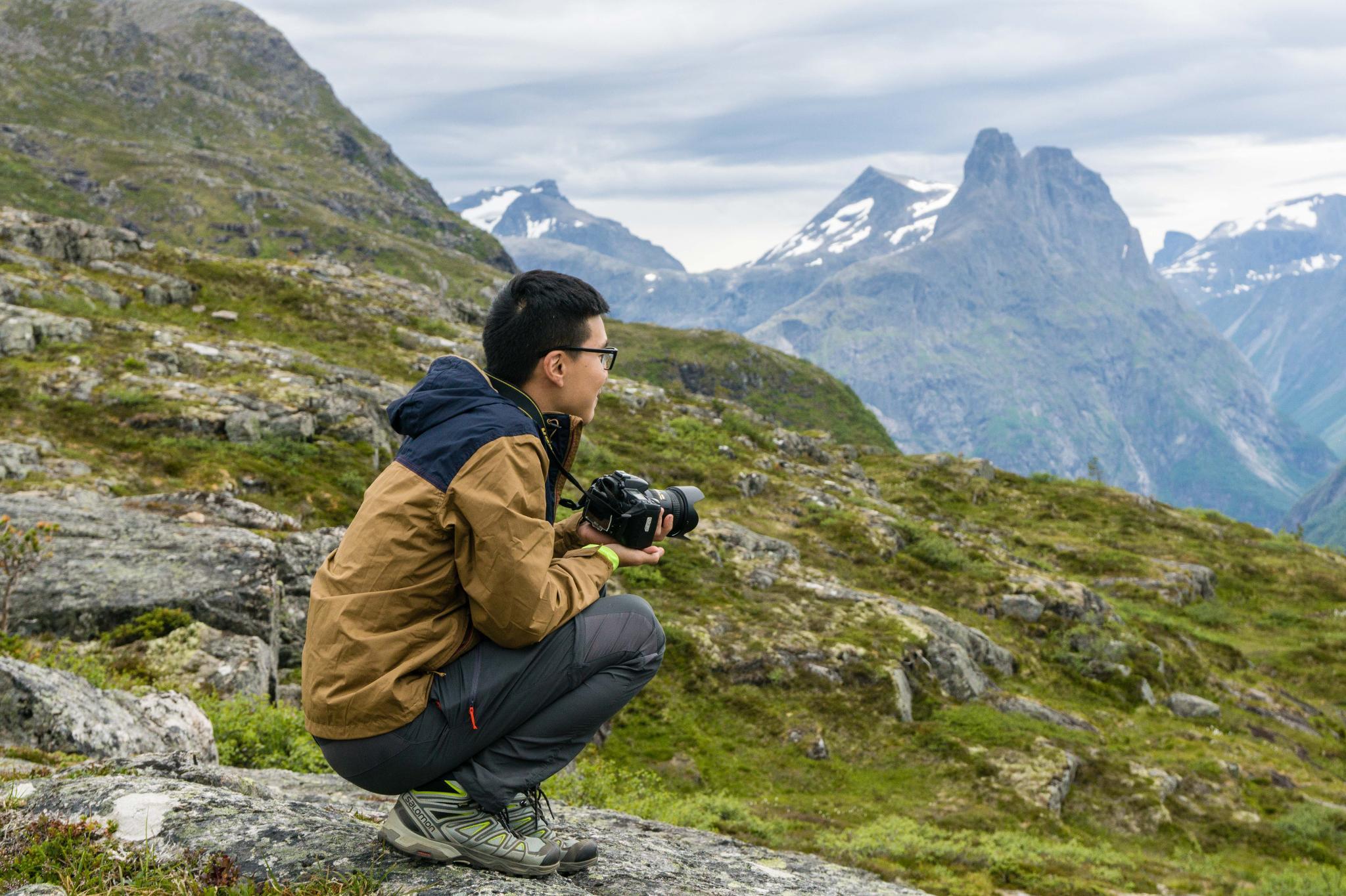 【北歐景點】峽灣區起點Åndalsnes健行 - 鳥瞰峽灣全景的Rampestreken觀景台 33