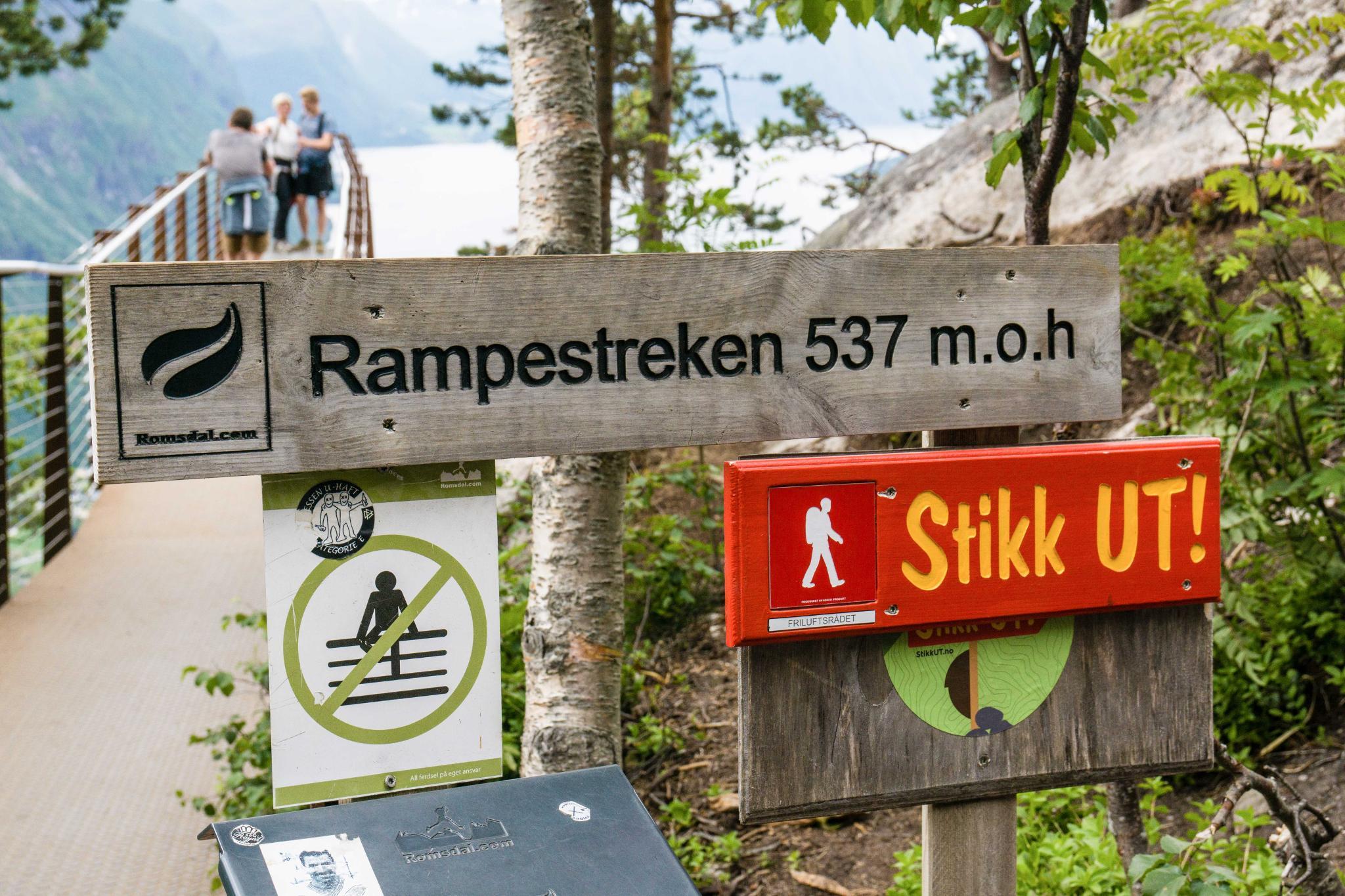 【北歐景點】峽灣區起點Åndalsnes健行 - 鳥瞰峽灣全景的Rampestreken觀景台 19