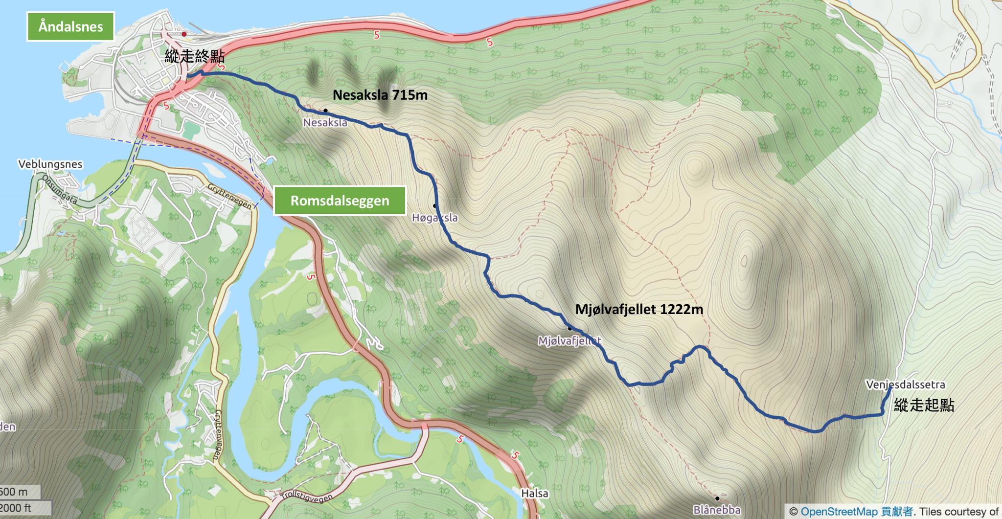 【北歐景點】峽灣區起點Åndalsnes健行 - 鳥瞰峽灣全景的Rampestreken觀景台 3