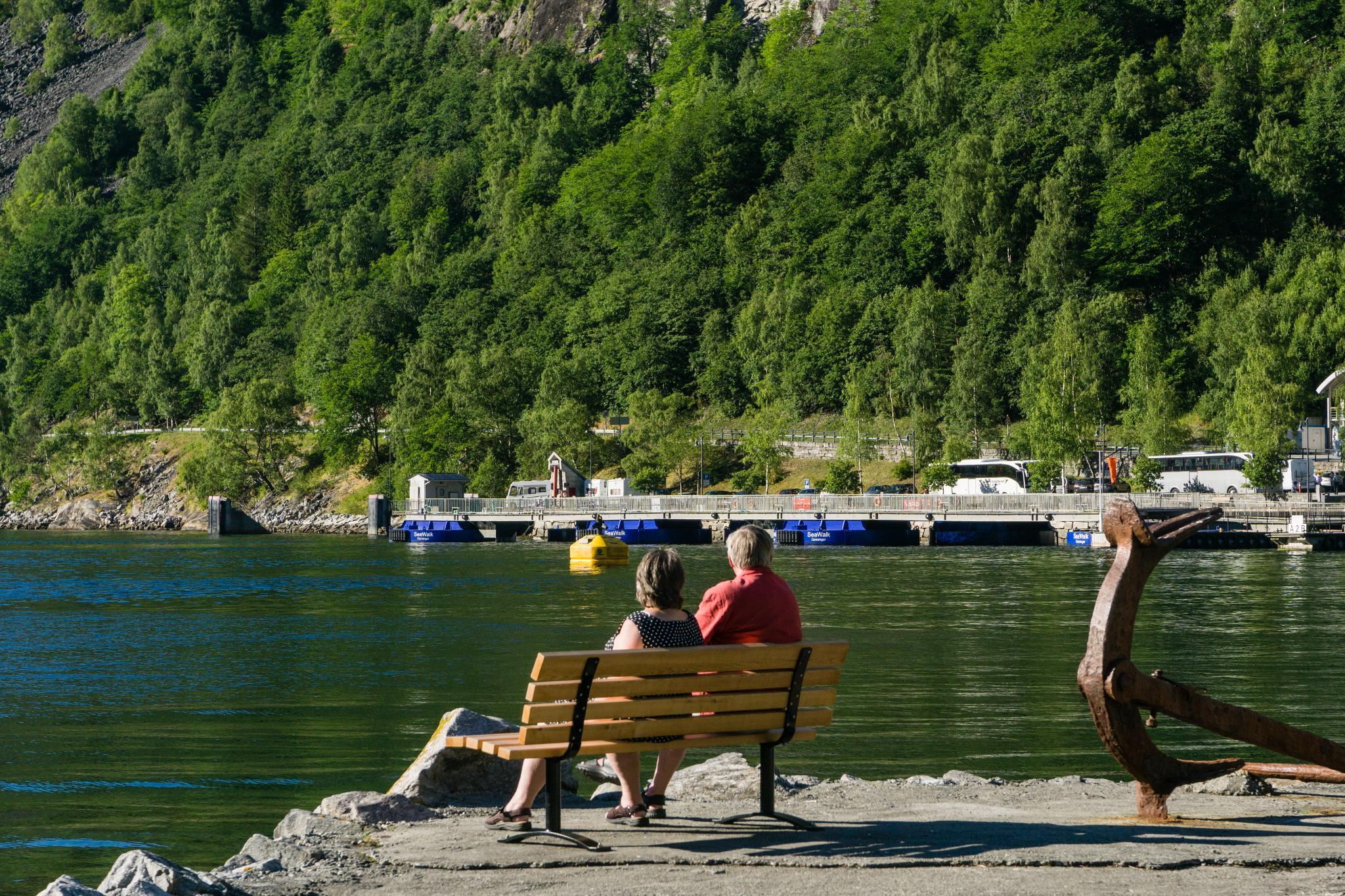 【北歐露營】在世界遺產峽灣旁露營 — 坐擁壯闊海景第一排的 Geiranger Camping 15