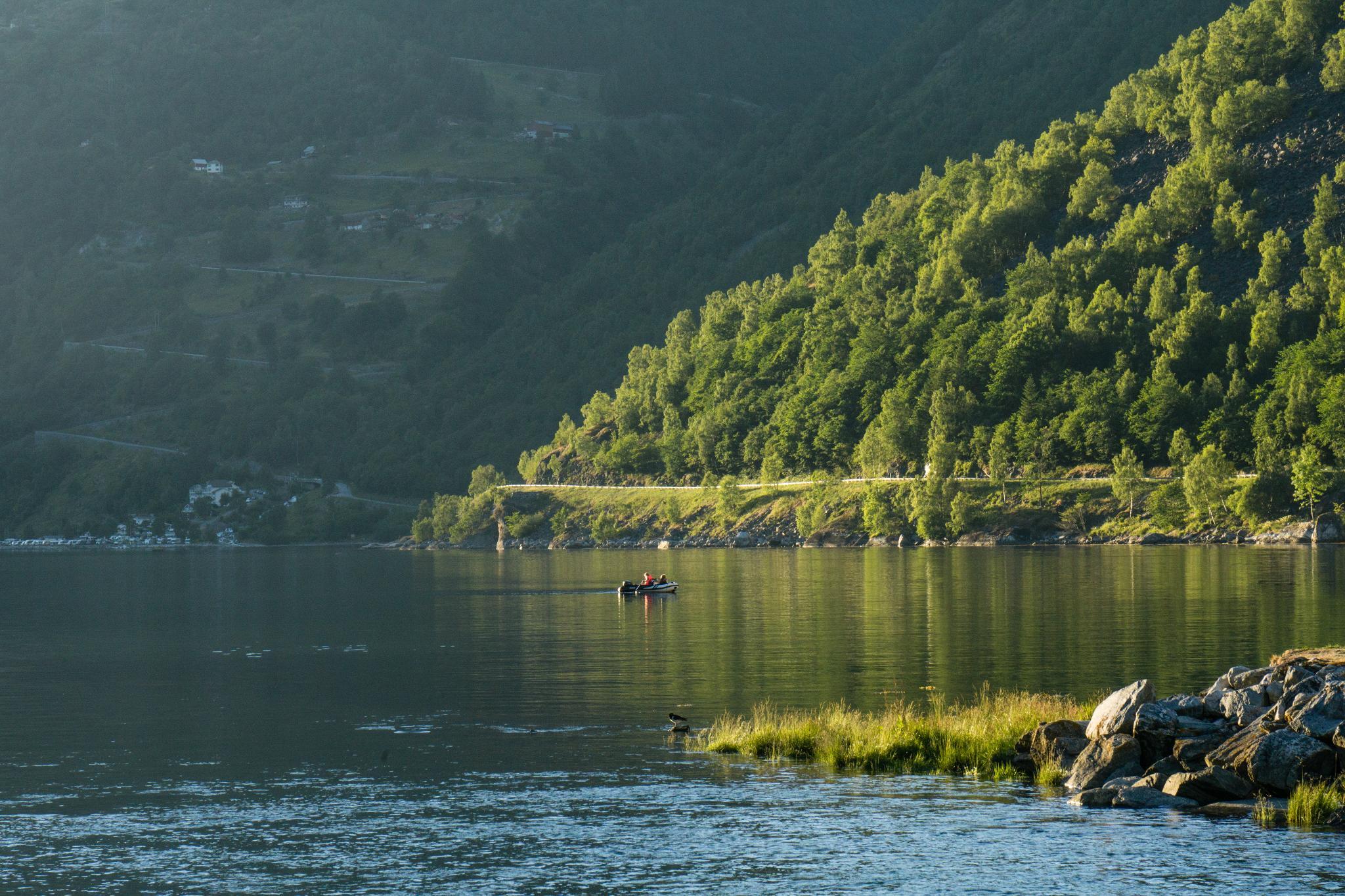 【北歐露營】在世界遺產峽灣旁露營 — 坐擁壯闊海景第一排的 Geiranger Camping 16