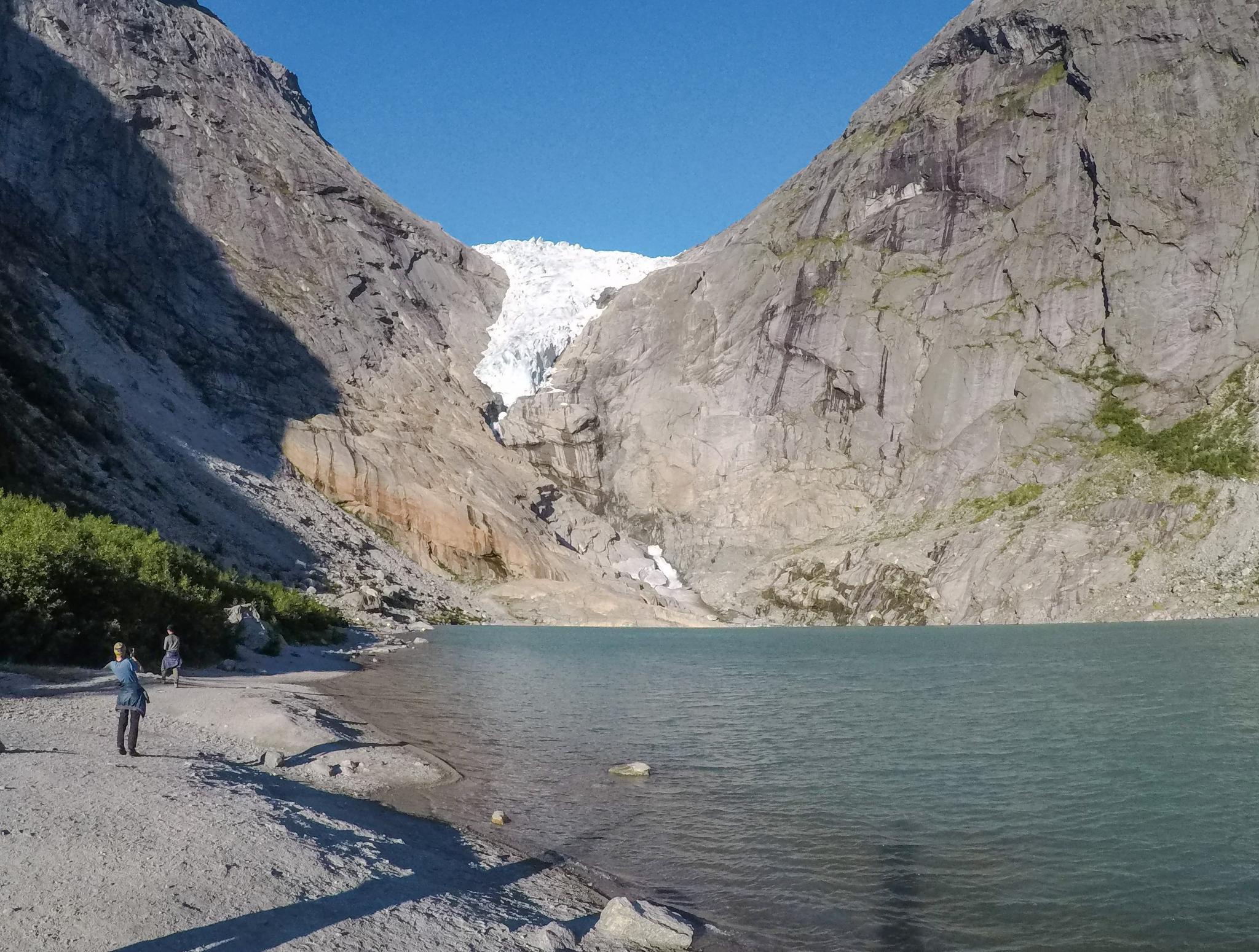 【北歐景點】挪威散步看冰川 - Briksdal Glacier 逐漸消融的冰河哀愁 9