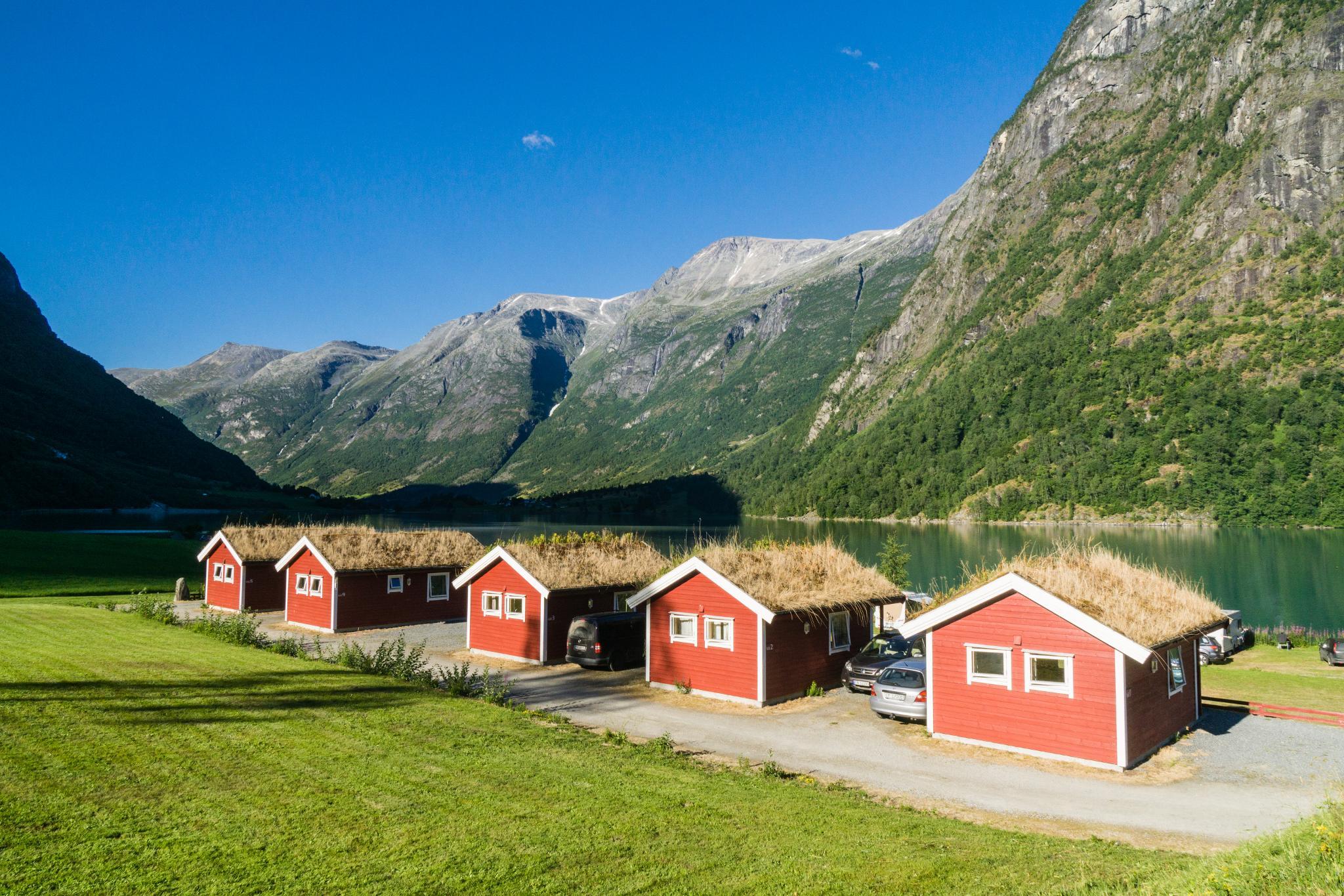 【北歐露營】擁抱Briksdal Glacier的怦然心動 - 在冰河最前緣露營的Gryta Camping 6
