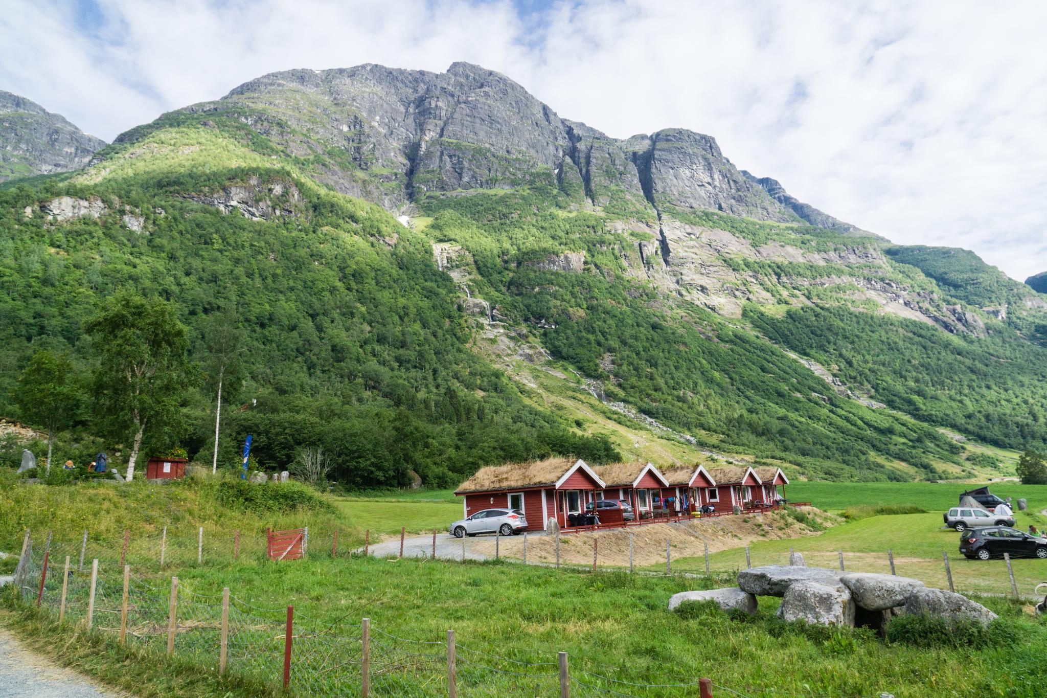 【北歐露營】擁抱Briksdal Glacier的怦然心動 - 在冰河最前緣露營的Gryta Camping 7