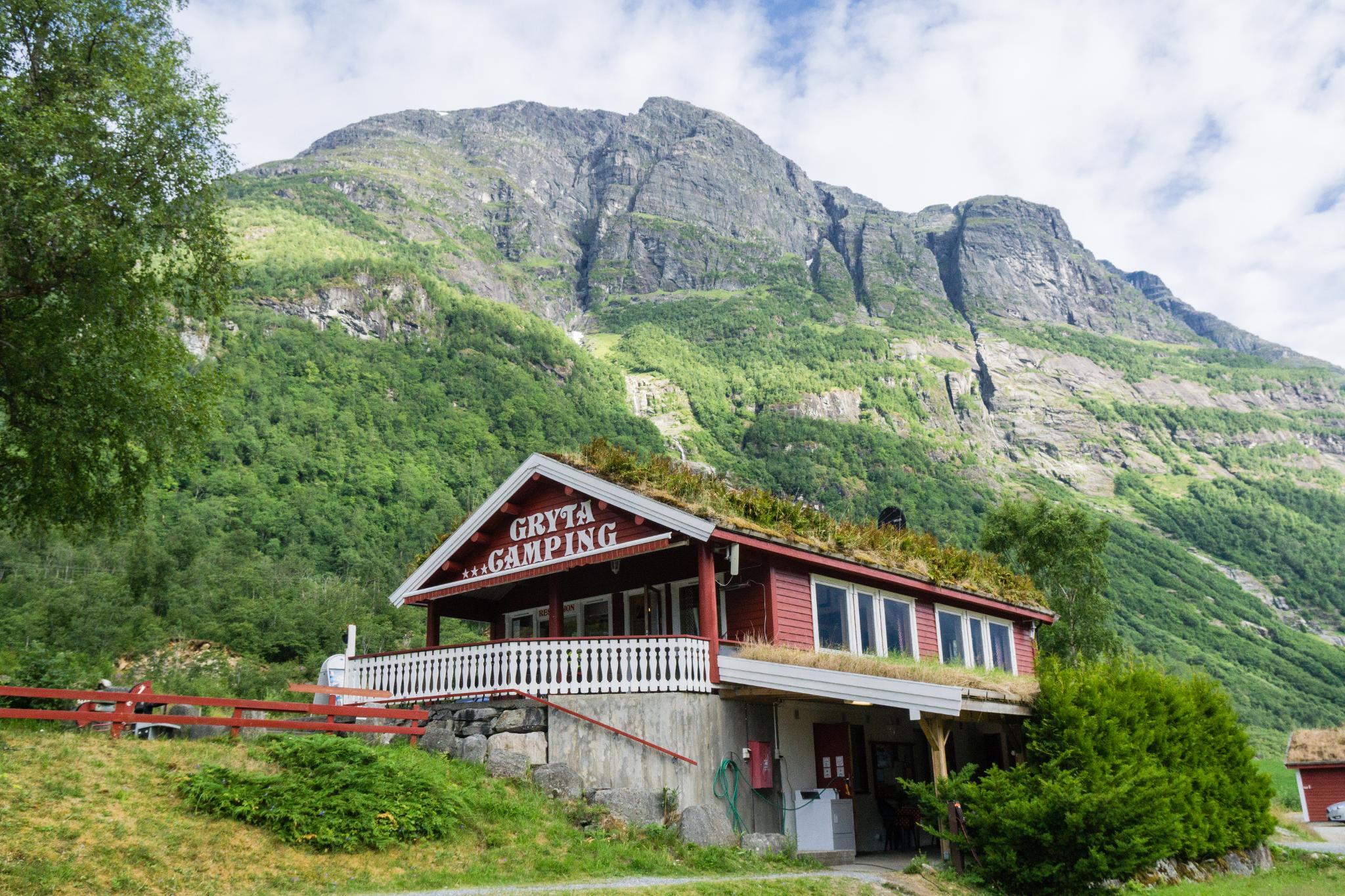 【北歐露營】擁抱Briksdal Glacier的怦然心動 - 在冰河最前緣露營的Gryta Camping 5