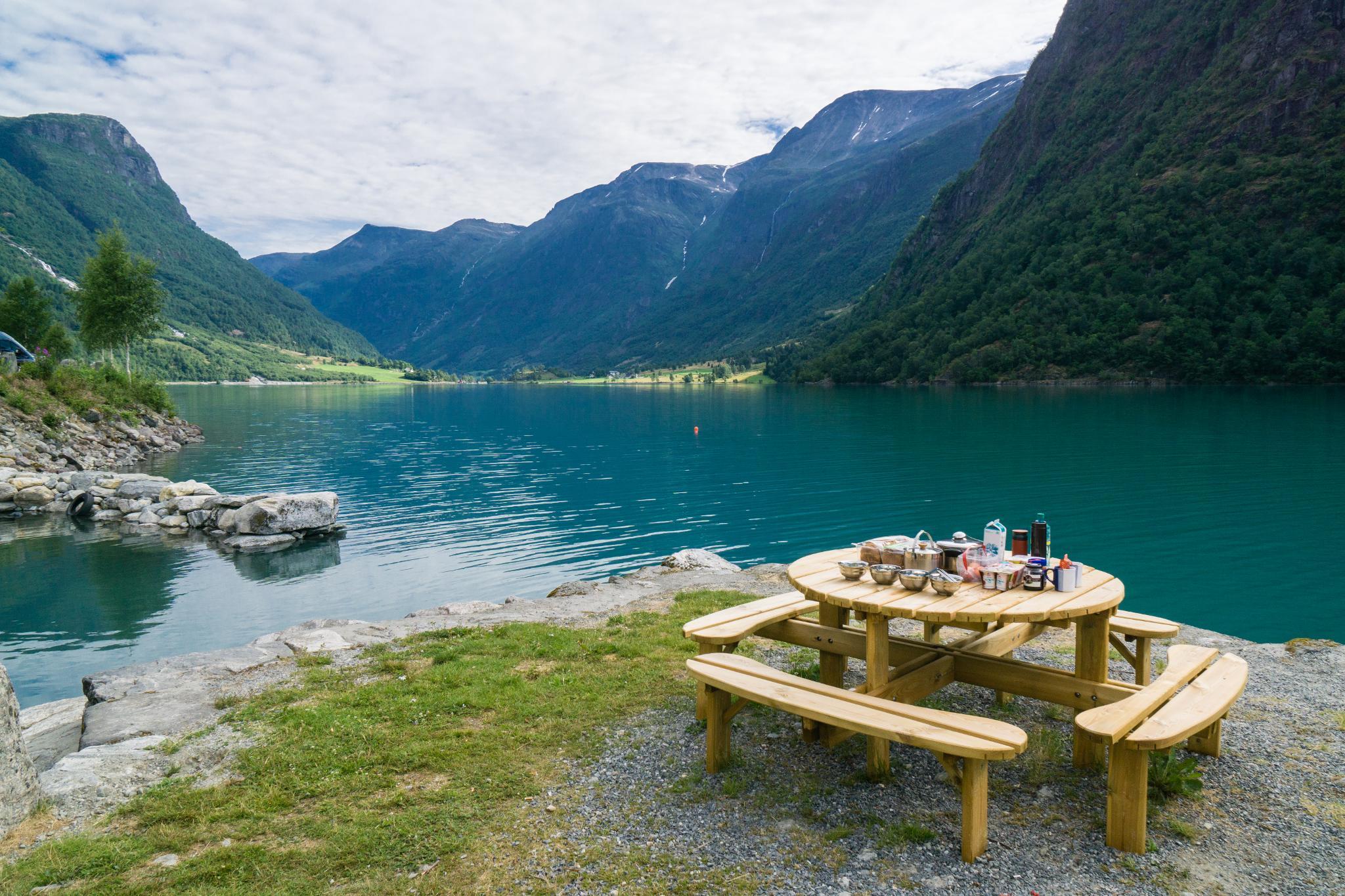 【北歐露營】擁抱Briksdal Glacier的怦然心動 - 在冰河最前緣露營的Gryta Camping 10