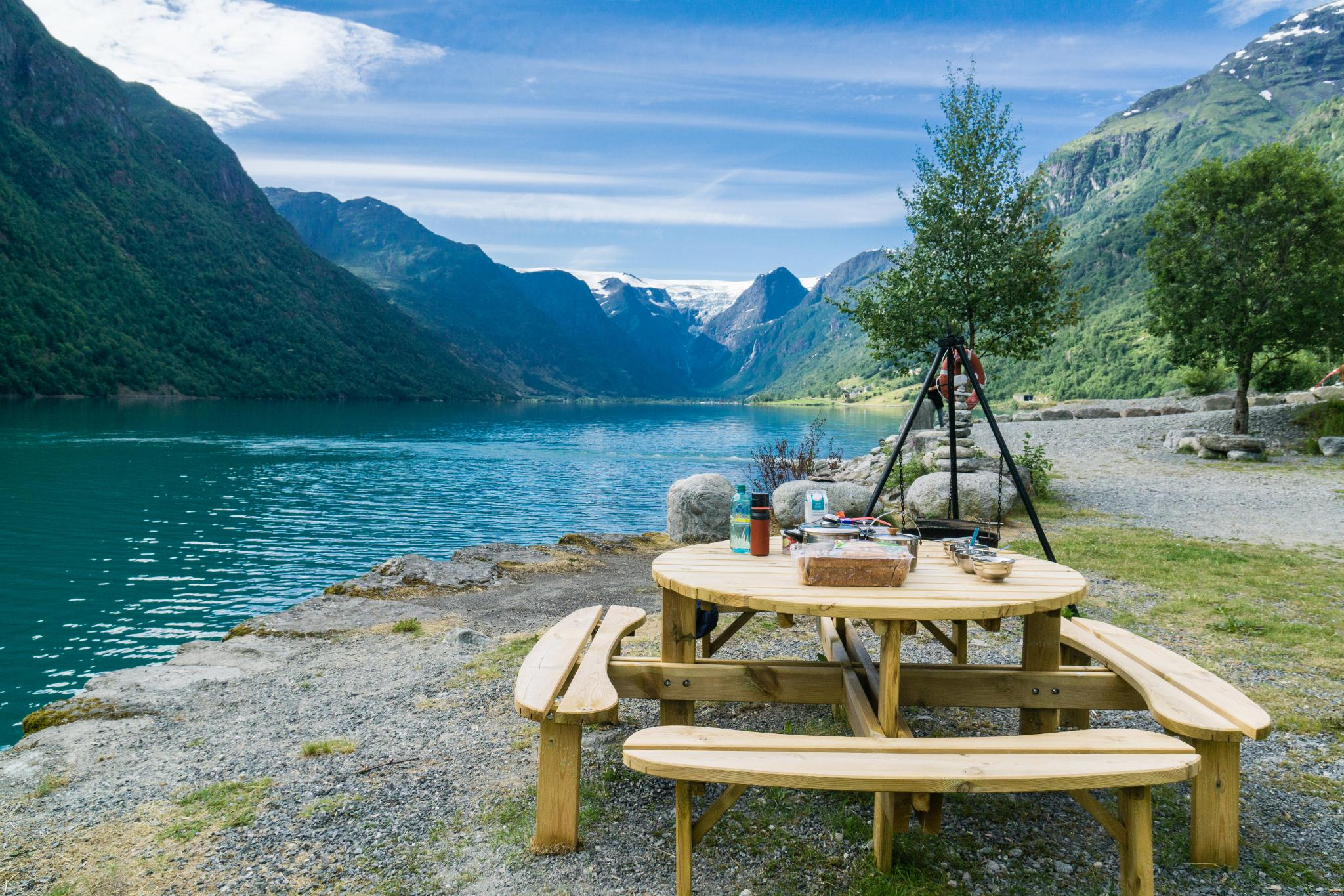 【北歐露營】擁抱Briksdal Glacier的怦然心動 - 在冰河最前緣露營的Gryta Camping 3