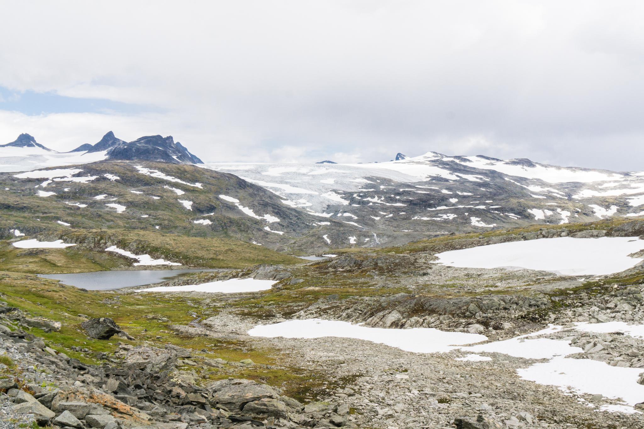 【北歐景點】穿越挪威的屋脊 - 前進北歐最美的冰原景觀公路 Fv55松恩山路 (Sognefjellet) 28
