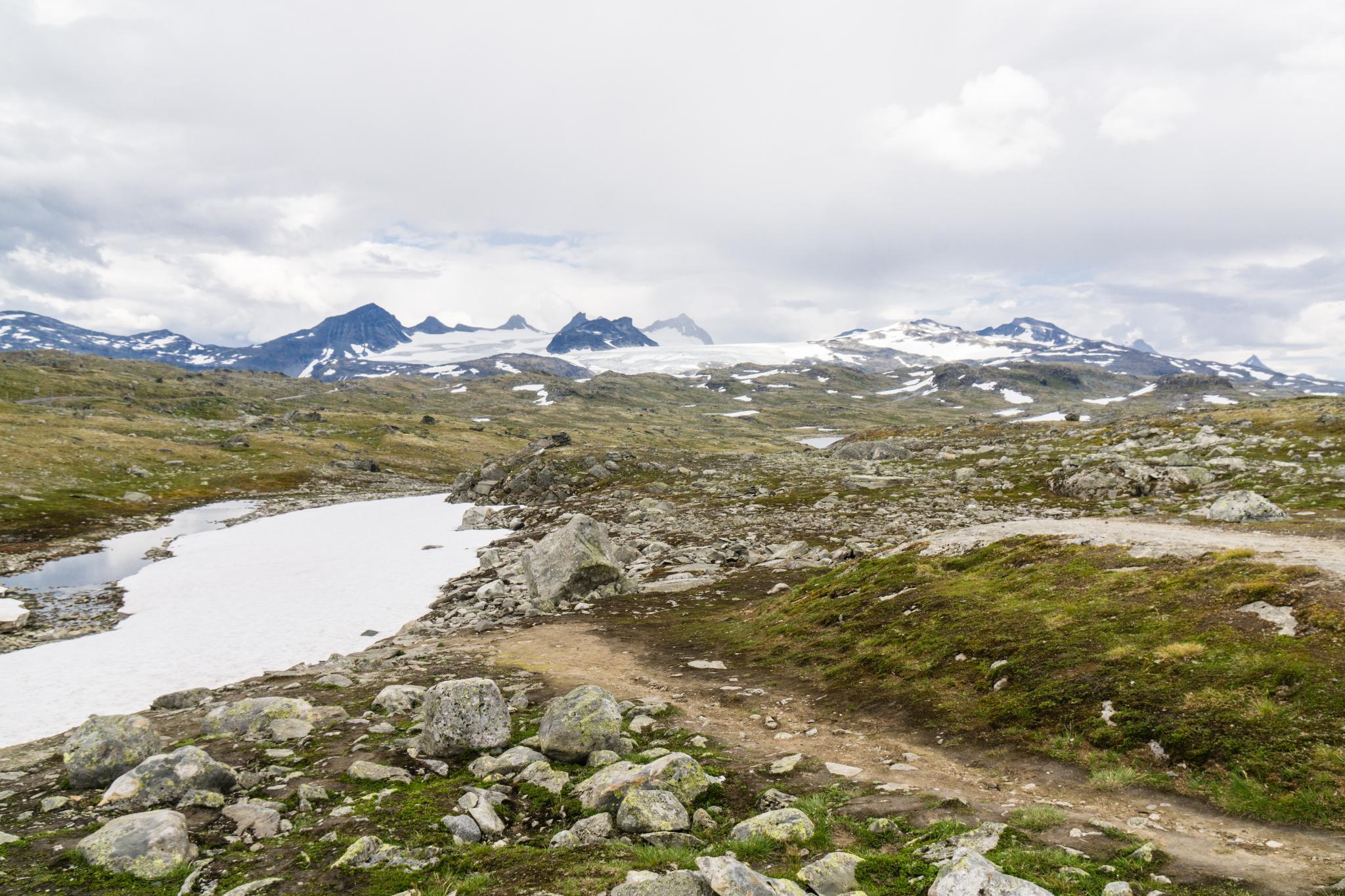 【北歐景點】穿越挪威的屋脊 - 前進北歐最美的冰原景觀公路 Fv55松恩山路 (Sognefjellet) 29