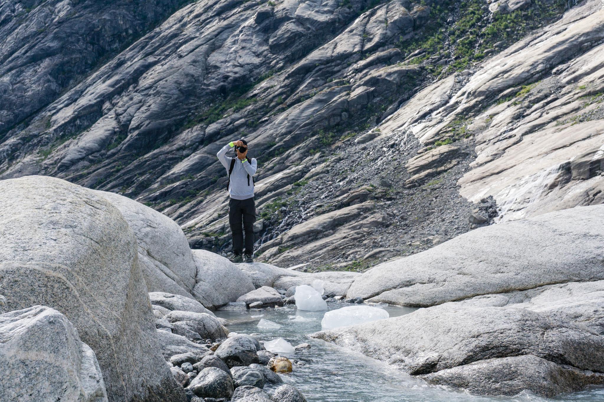【北歐景點】冒險挪威!峽灣區最刺激的冰河健行 - Nigardsbreen Long Blue Ice Hike 24