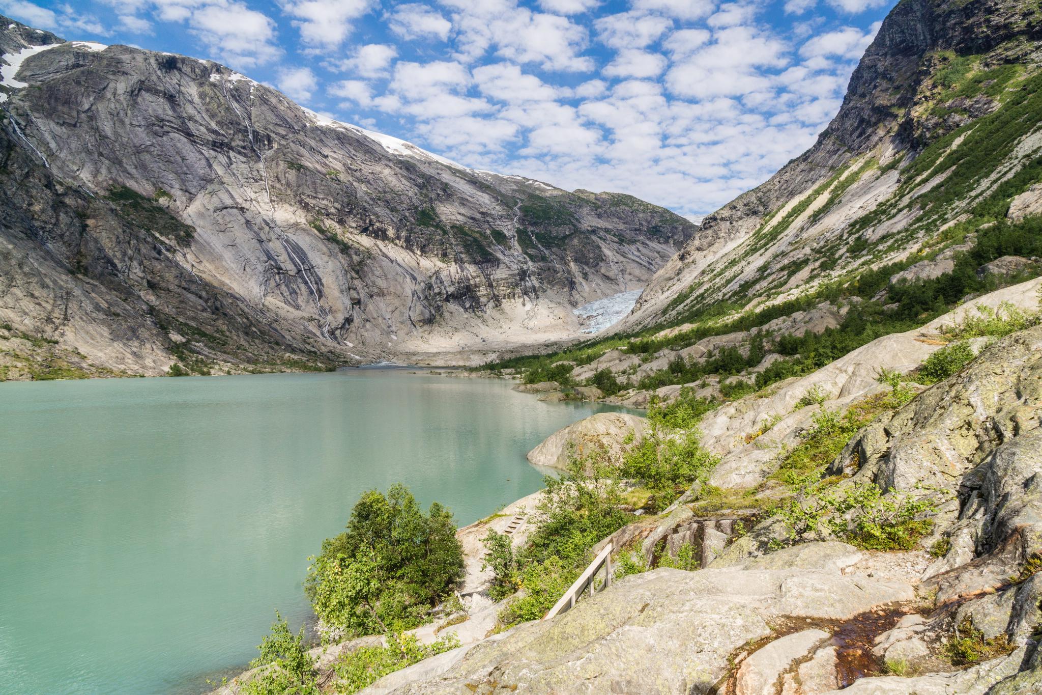 【北歐景點】冒險挪威!峽灣區最刺激的冰河健行 - Nigardsbreen Long Blue Ice Hike 13