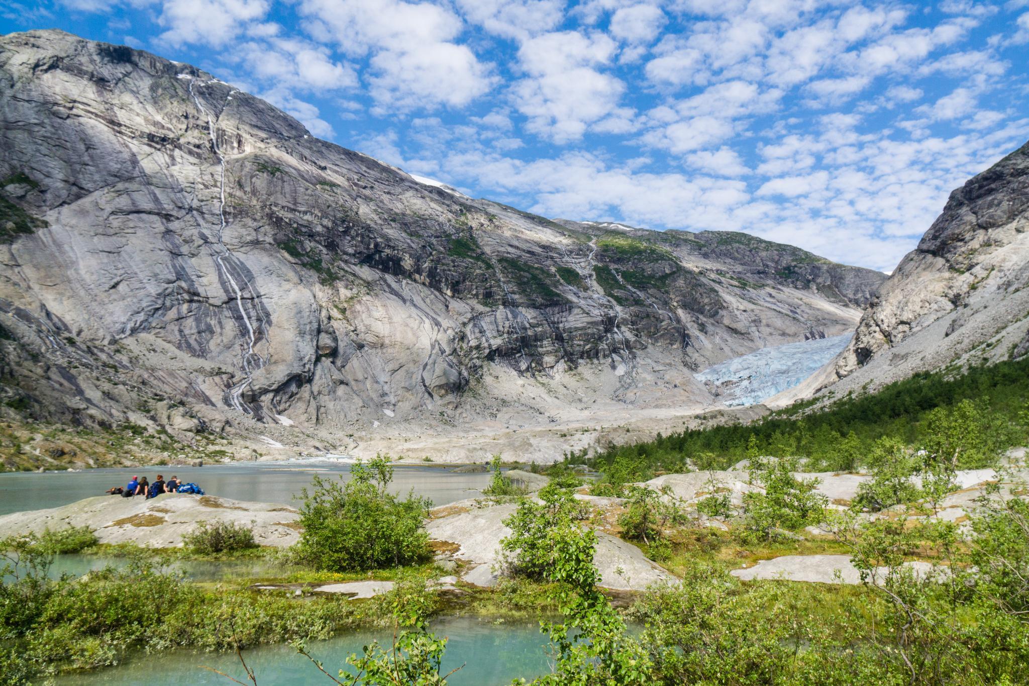 【北歐景點】冒險挪威!峽灣區最刺激的冰河健行 - Nigardsbreen Long Blue Ice Hike 15