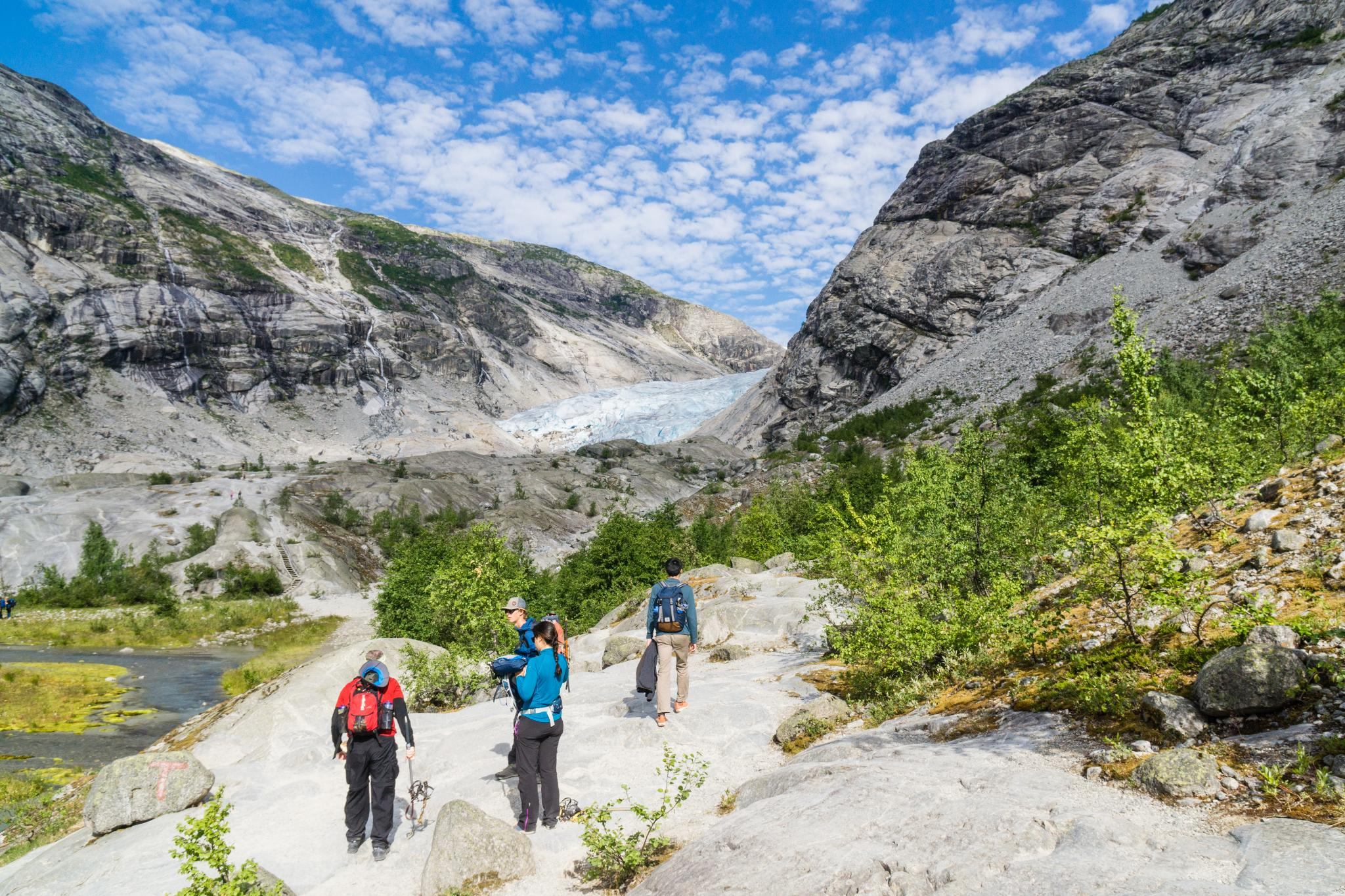 【北歐景點】冒險挪威!峽灣區最刺激的冰河健行 - Nigardsbreen Long Blue Ice Hike 18