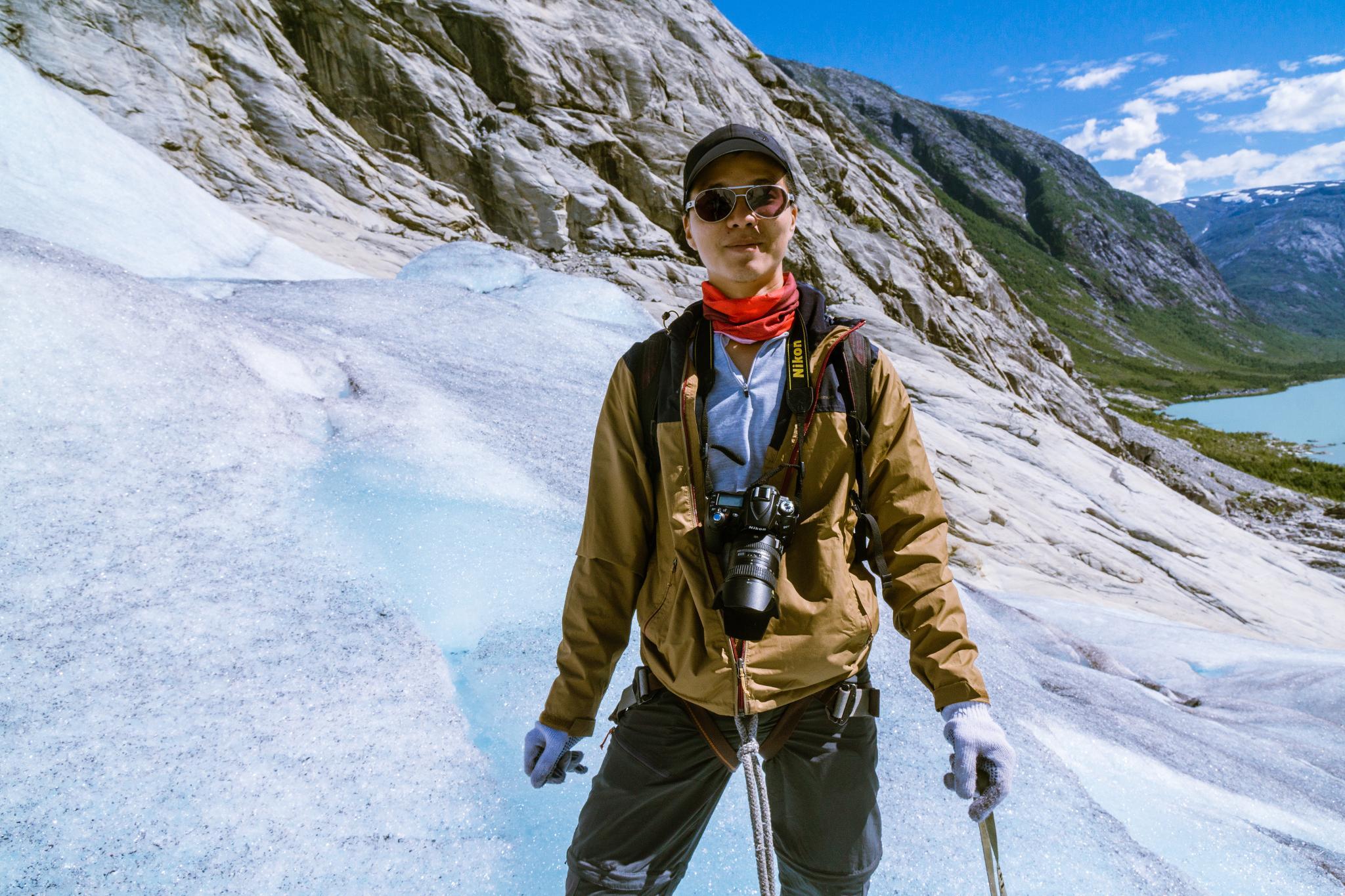 【北歐景點】冒險挪威!峽灣區最刺激的冰河健行 - Nigardsbreen Long Blue Ice Hike 32