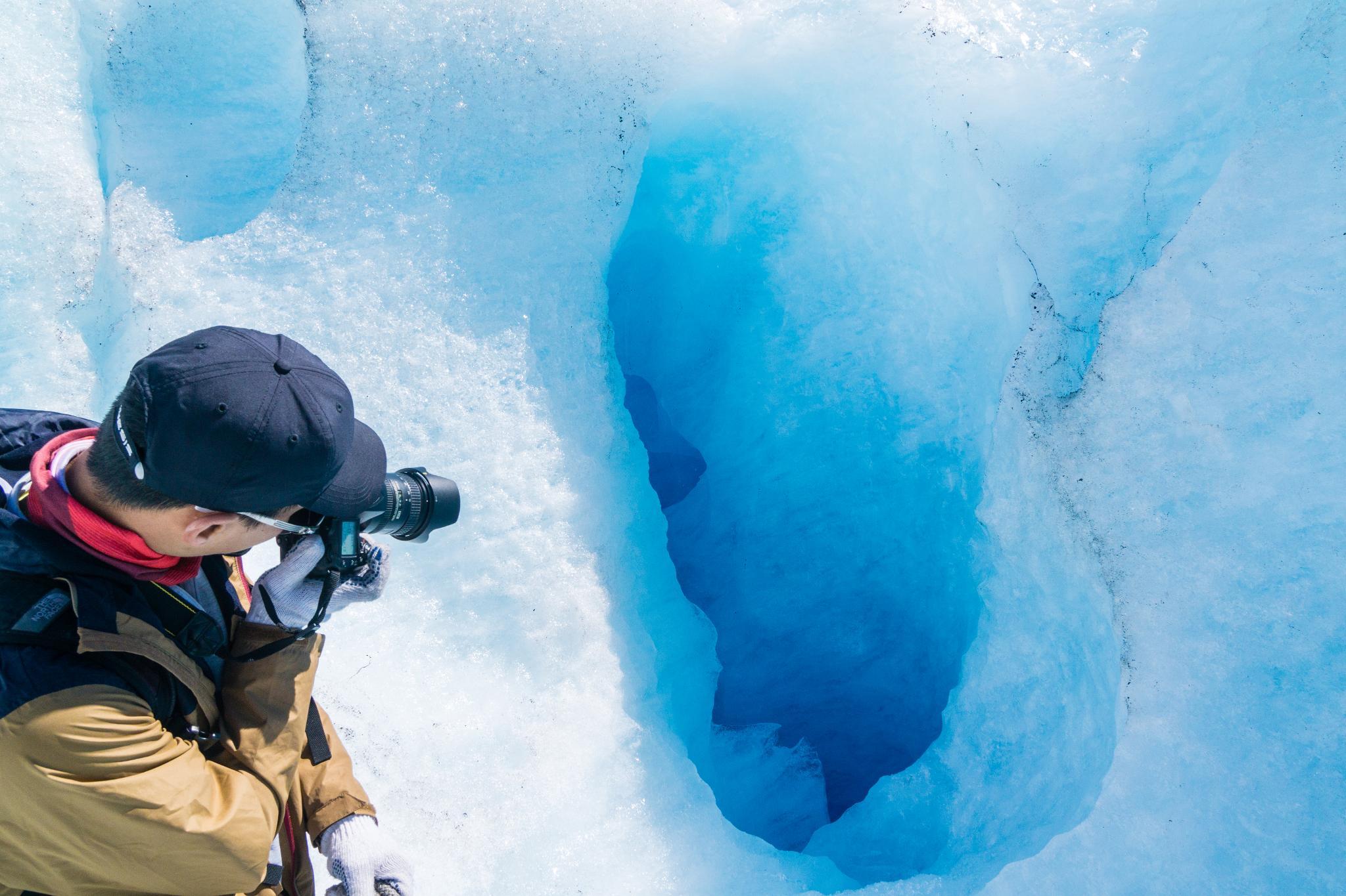 【北歐景點】冒險挪威!峽灣區最刺激的冰河健行 - Nigardsbreen Long Blue Ice Hike 45