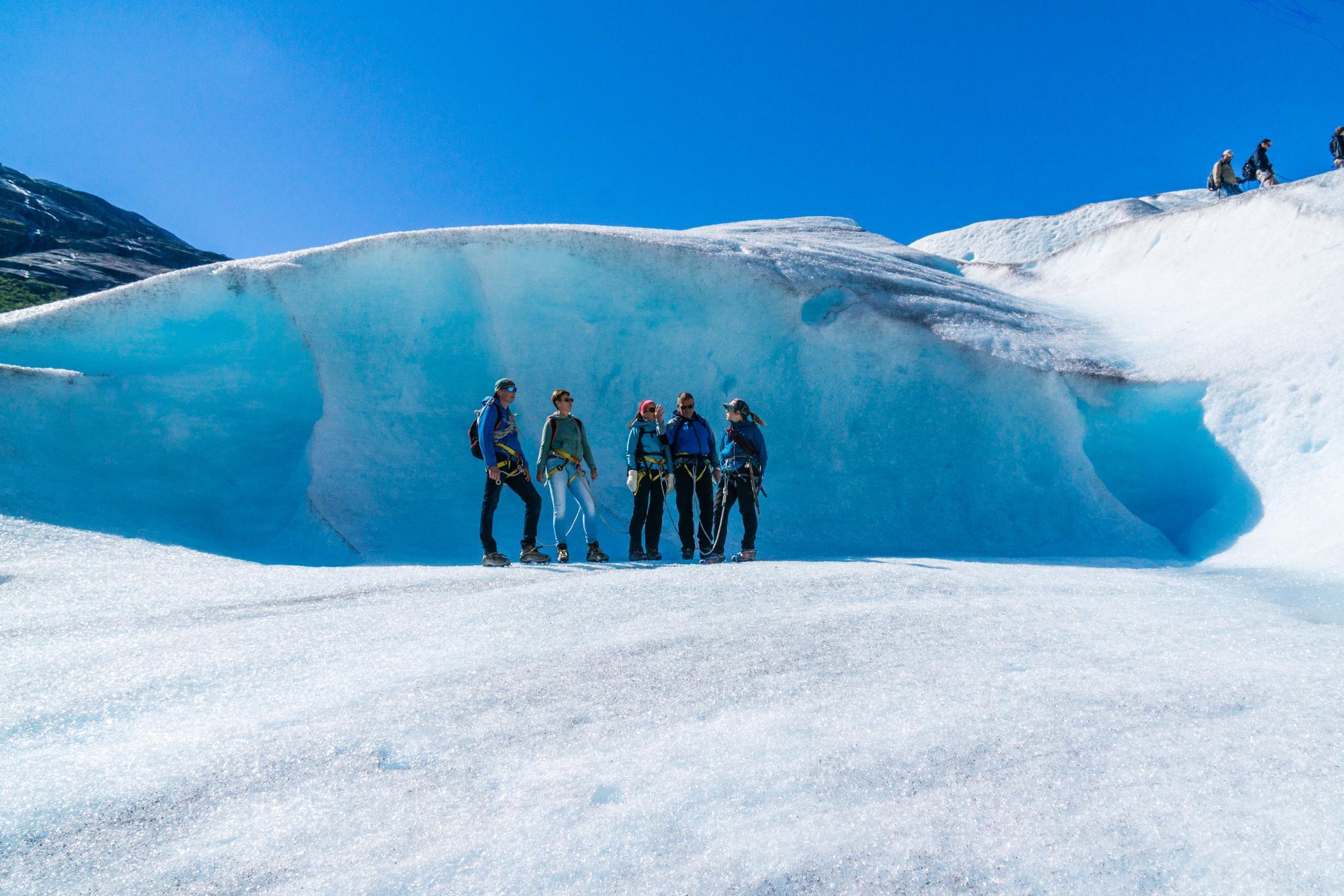 【北歐景點】冒險挪威!峽灣區最刺激的冰河健行 - Nigardsbreen Long Blue Ice Hike 62