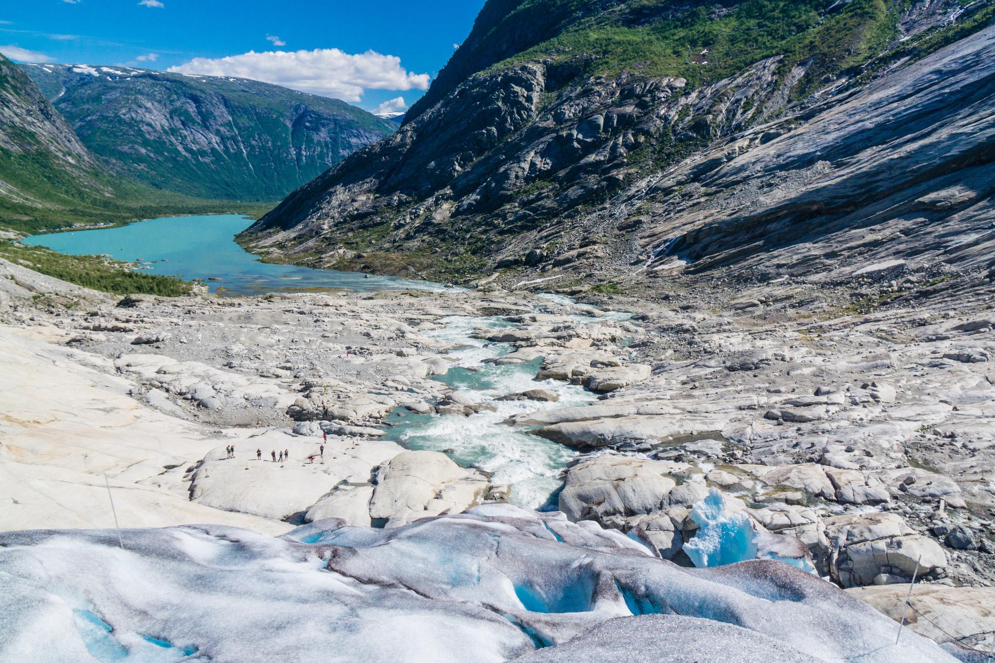 【北歐景點】冒險挪威!峽灣區最刺激的冰河健行 - Nigardsbreen Long Blue Ice Hike 64