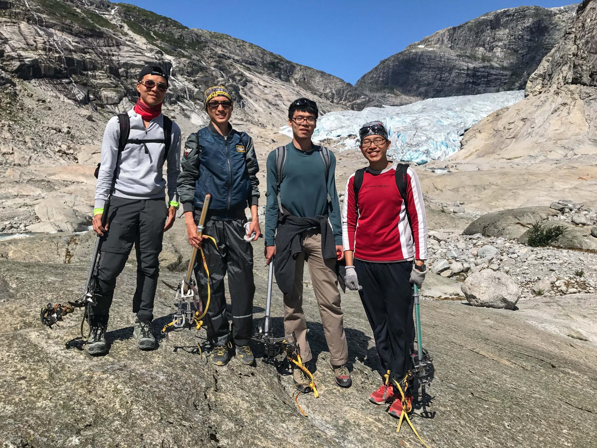 【北歐景點】冒險挪威!峽灣區最刺激的冰河健行 - Nigardsbreen Long Blue Ice Hike 31