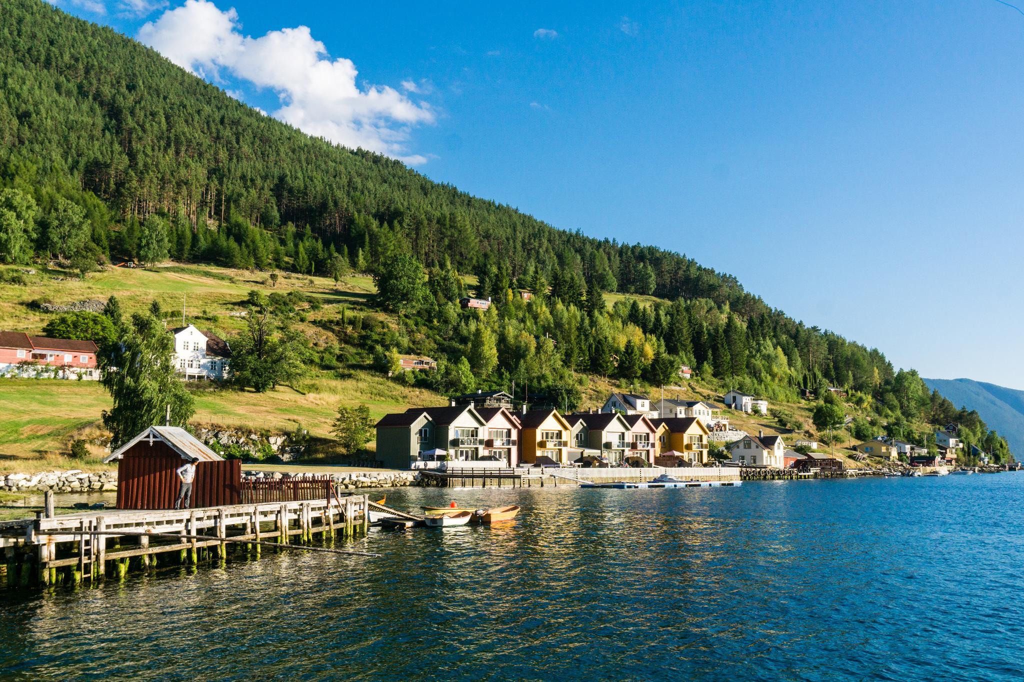 【北歐景點】松恩峽灣的隱藏版絕美景點 - 如詩如畫的Kaupanger小鎮 29