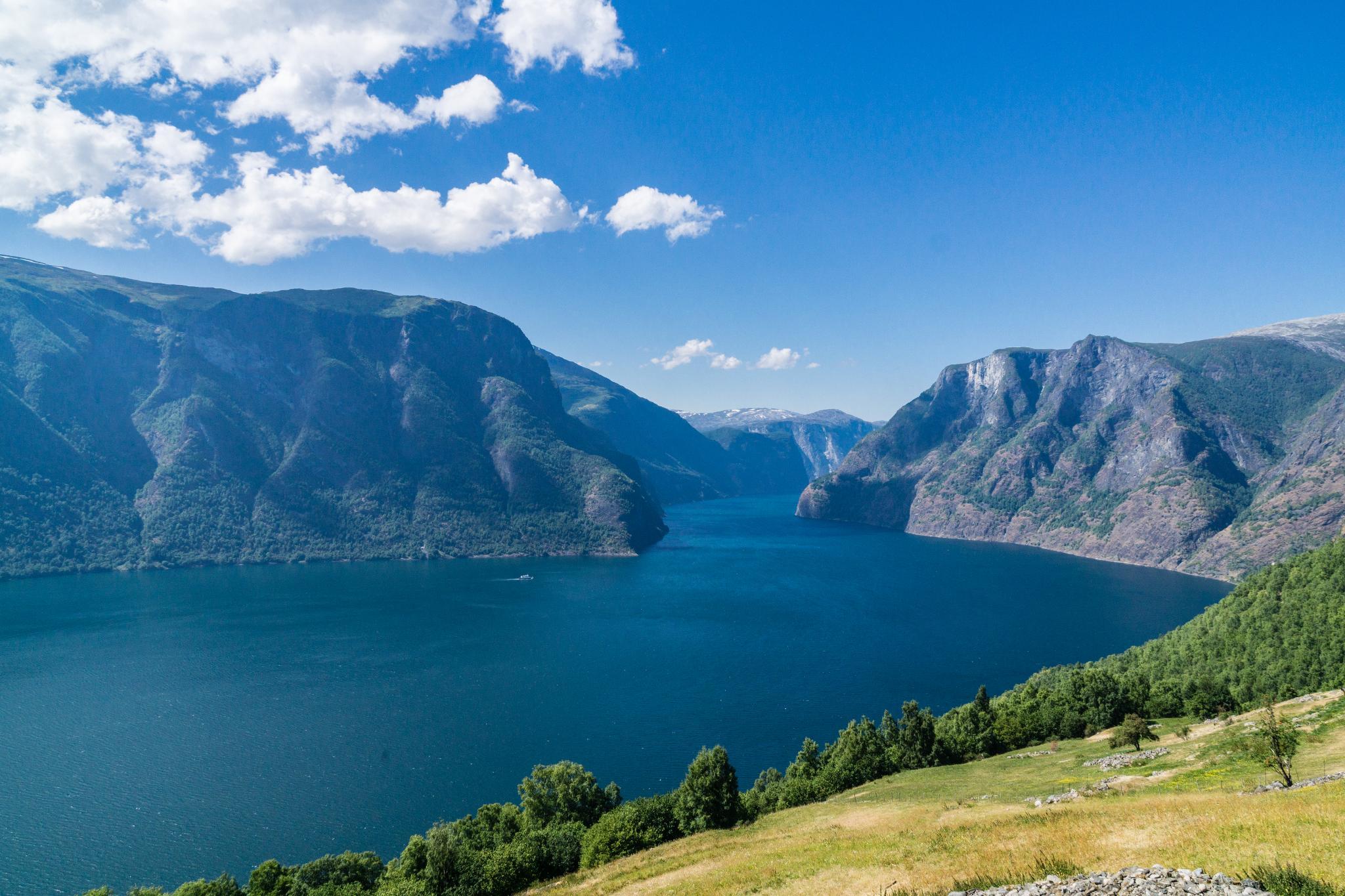 【北歐景點】世界最美景觀公路 - 俯瞰挪威松恩峽灣的 Fv243 雪之路 (Aurlandsfjellet) 35