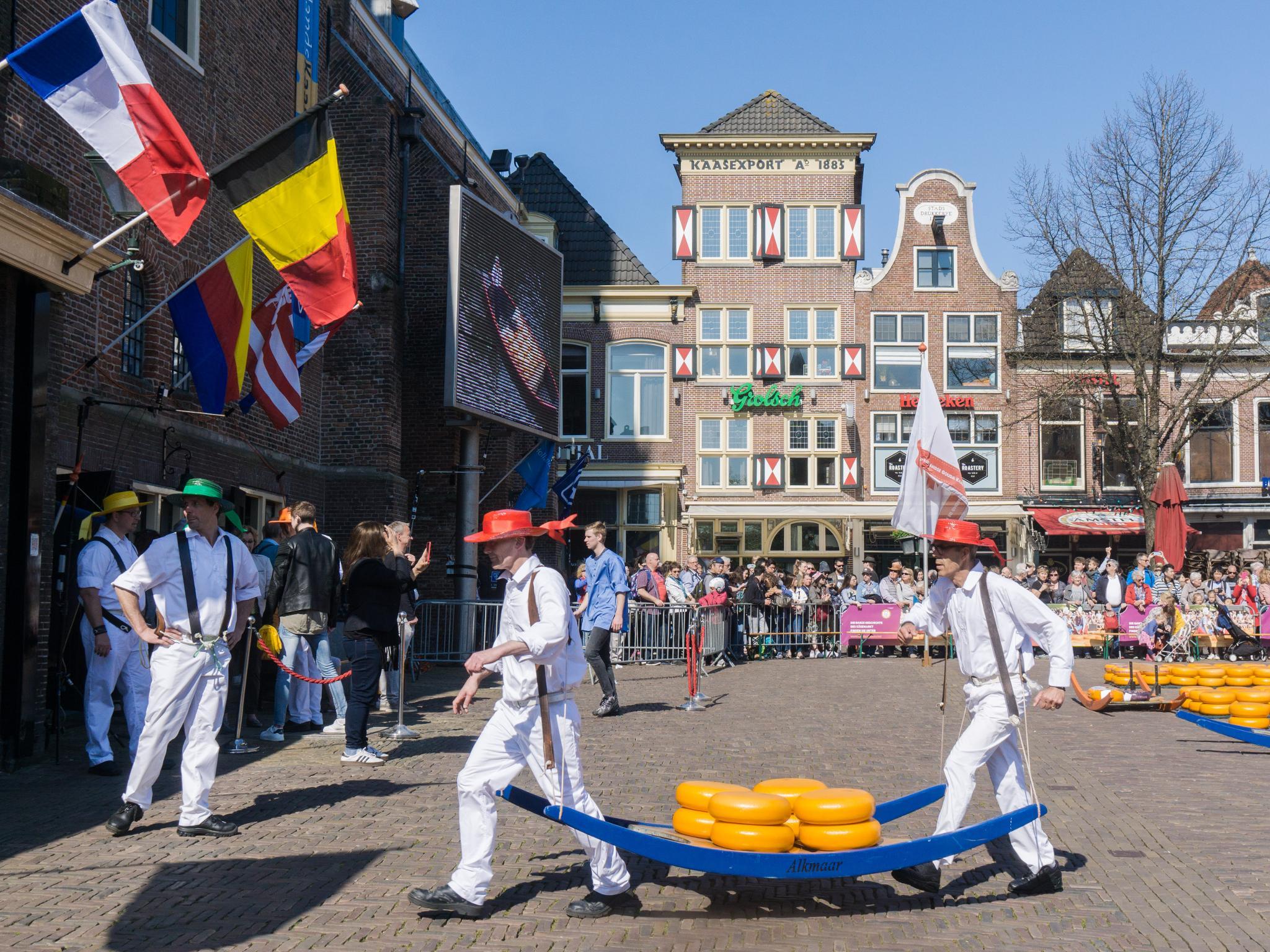 【荷蘭印象】體驗道地的荷式風情 — Alkmaar 起司市集 散步路線整理 21
