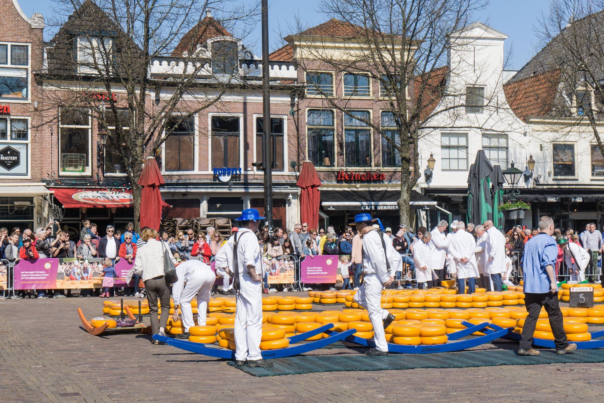 【荷蘭印象】體驗道地的荷式風情 — Alkmaar 起司市集 散步路線整理 19