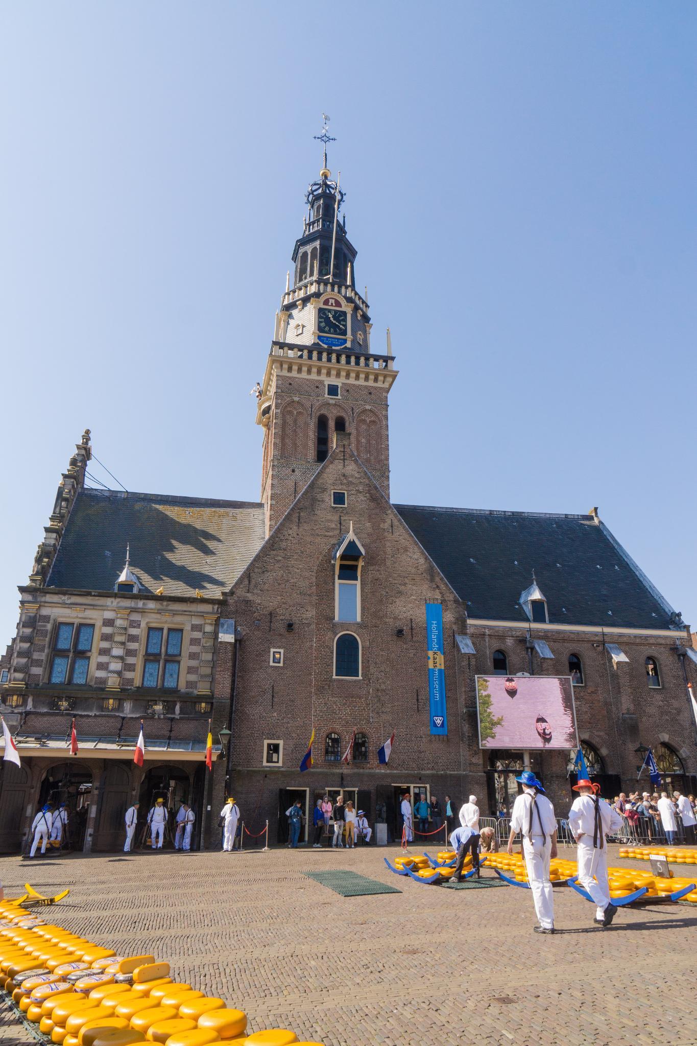 【荷蘭印象】體驗道地的荷式風情 — Alkmaar 起司市集 散步路線整理 18