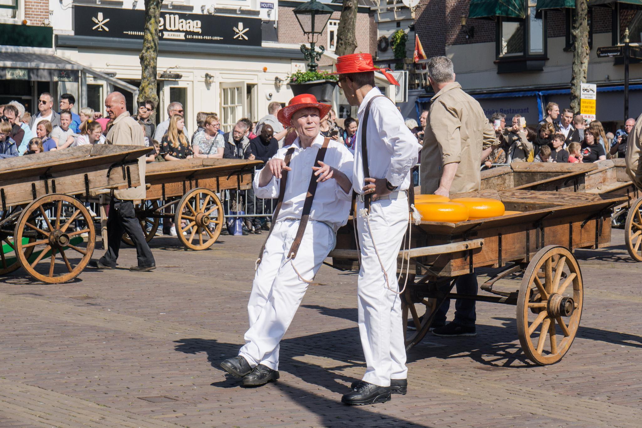 【荷蘭印象】體驗道地的荷式風情 — Alkmaar 起司市集 散步路線整理 25
