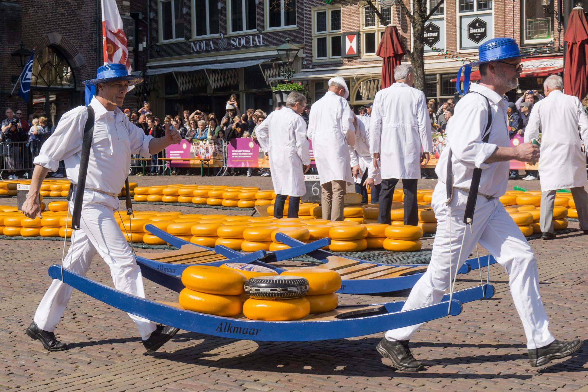 【荷蘭印象】體驗道地的荷式風情 — Alkmaar 起司市集 散步路線整理