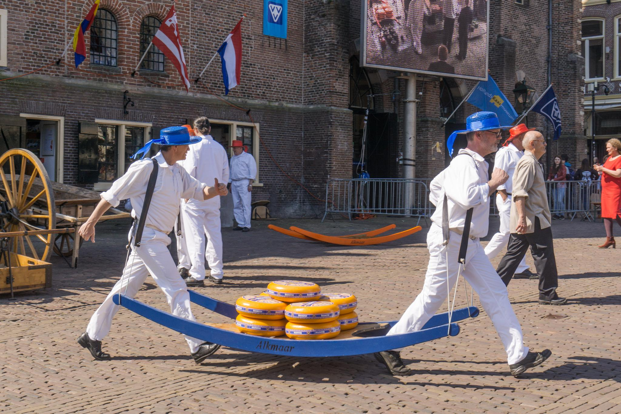【荷蘭印象】體驗道地的荷式風情 — Alkmaar 起司市集 散步路線整理 23