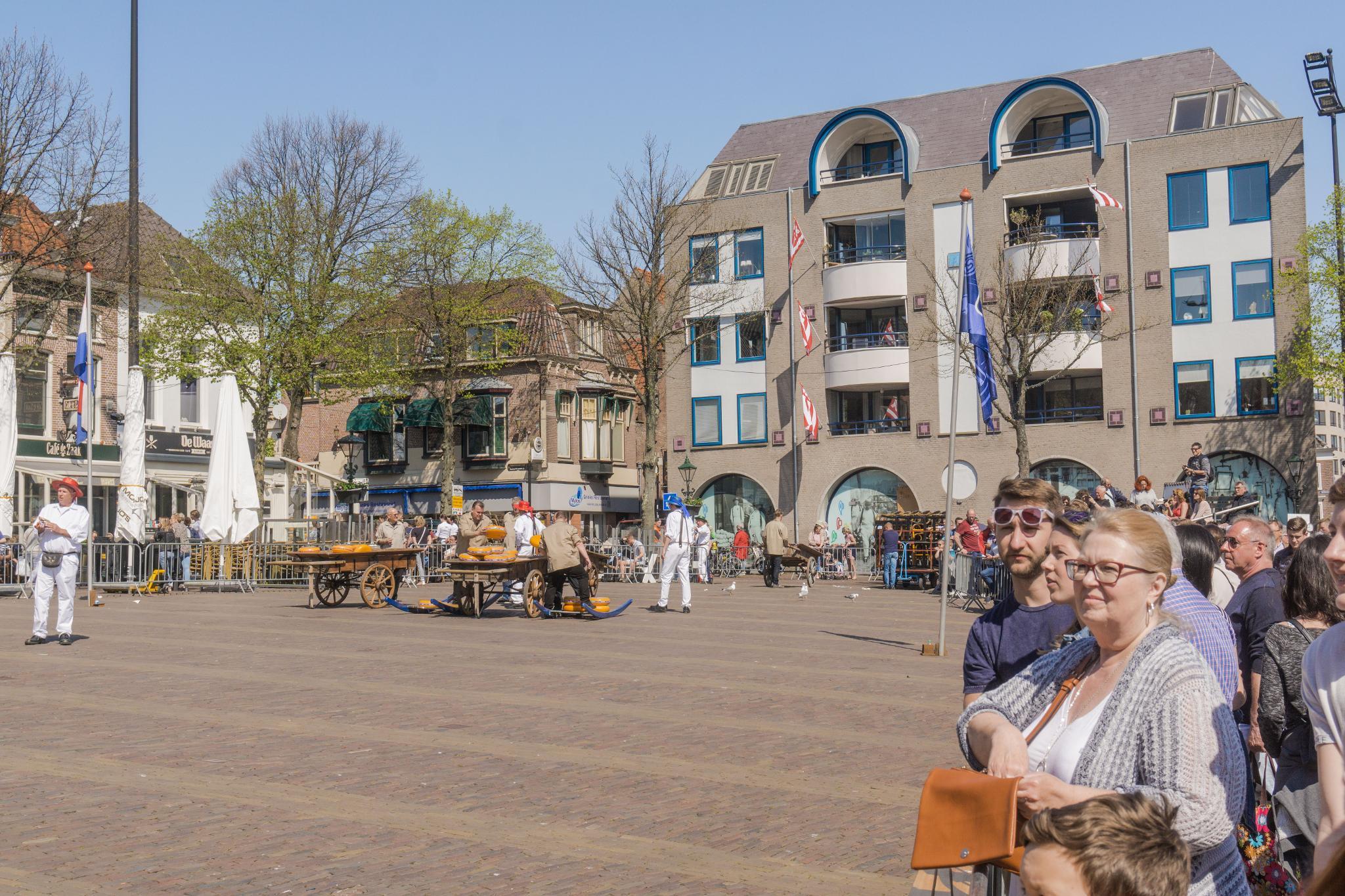 【荷蘭印象】體驗道地的荷式風情 — Alkmaar 起司市集 散步路線整理 27