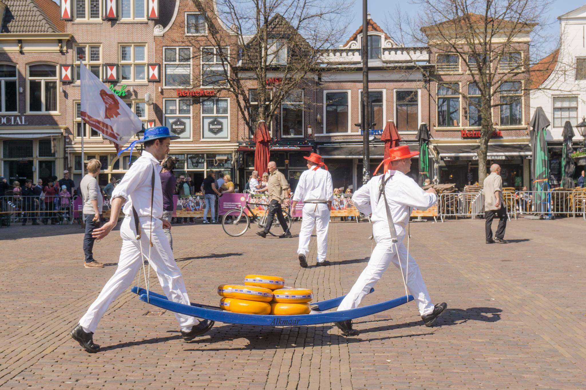 【荷蘭印象】體驗道地的荷式風情 — Alkmaar 起司市集 散步路線整理 1