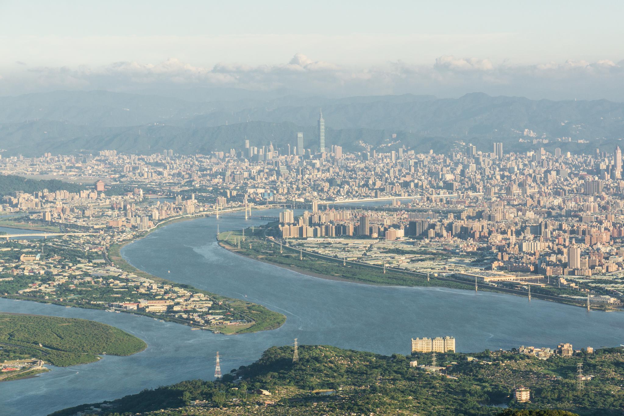 觀音山硬漢嶺。瞭望大台北地區最推薦的觀景台