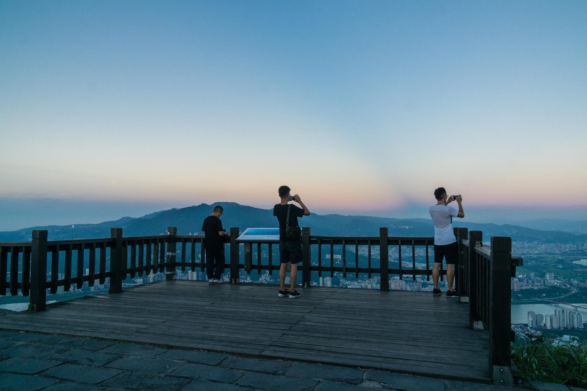 【臺北】觀音山硬漢嶺 — 瞭望大台北地區最推薦的觀景台 12