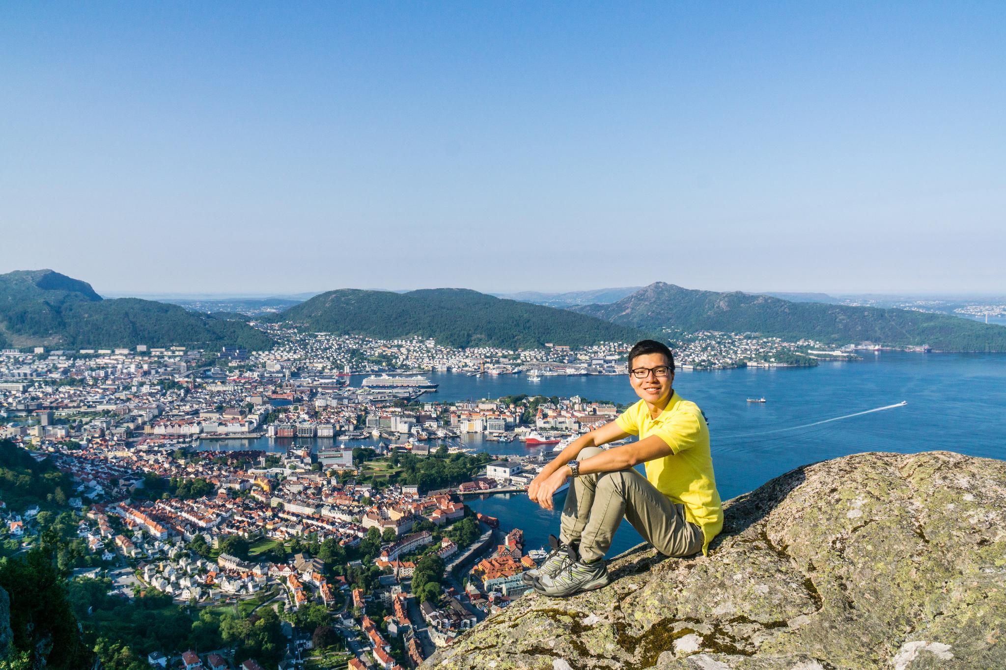 【卑爾根】超級震撼的隱藏版挪威景點 — Stoltzekleiven桑德維克斯石梯與Fløyen佛洛伊恩觀景台大縱走 16