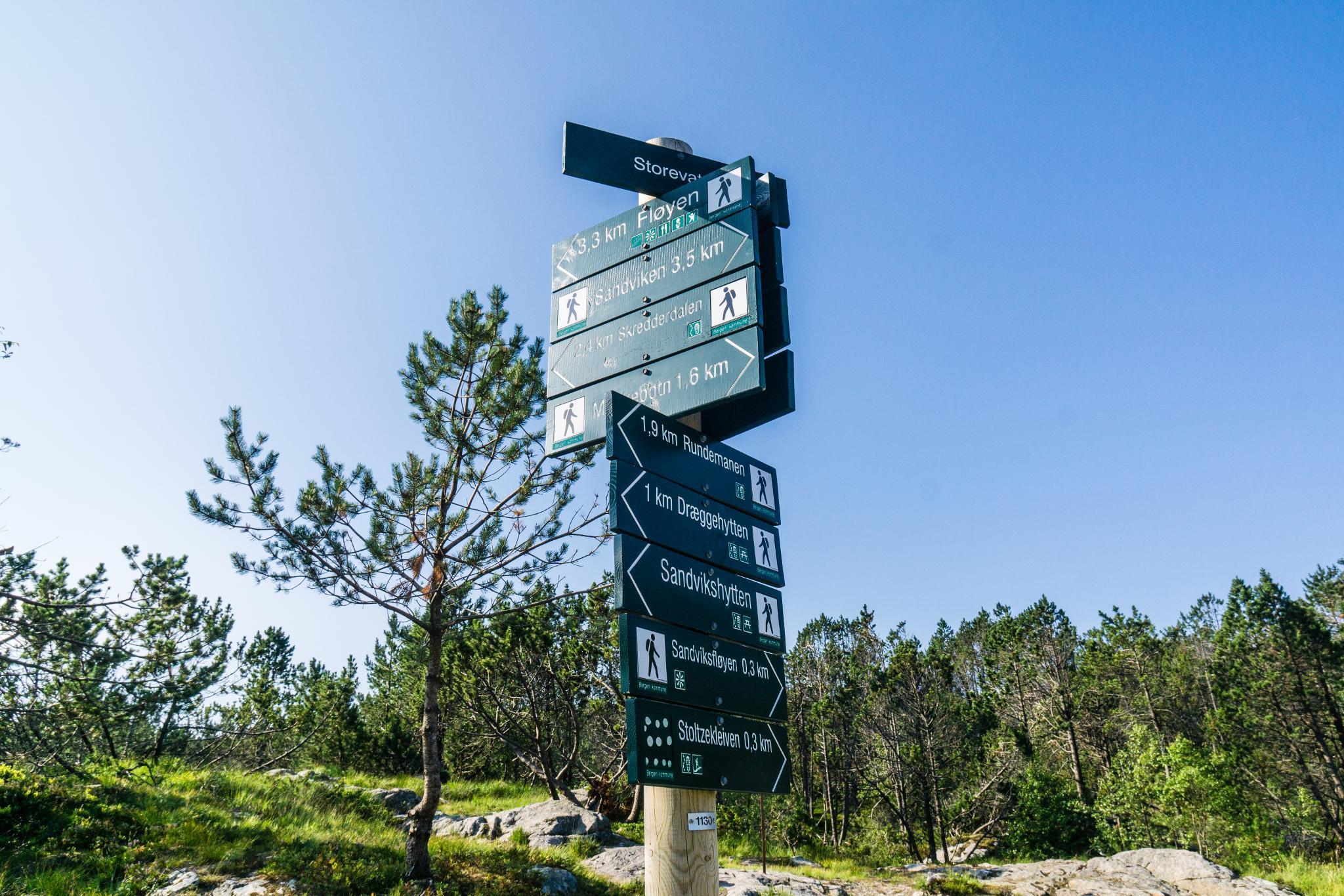 【卑爾根】超級震撼的隱藏版挪威景點 — Stoltzekleiven桑德維克斯石梯與Fløyen佛洛伊恩觀景台大縱走 18