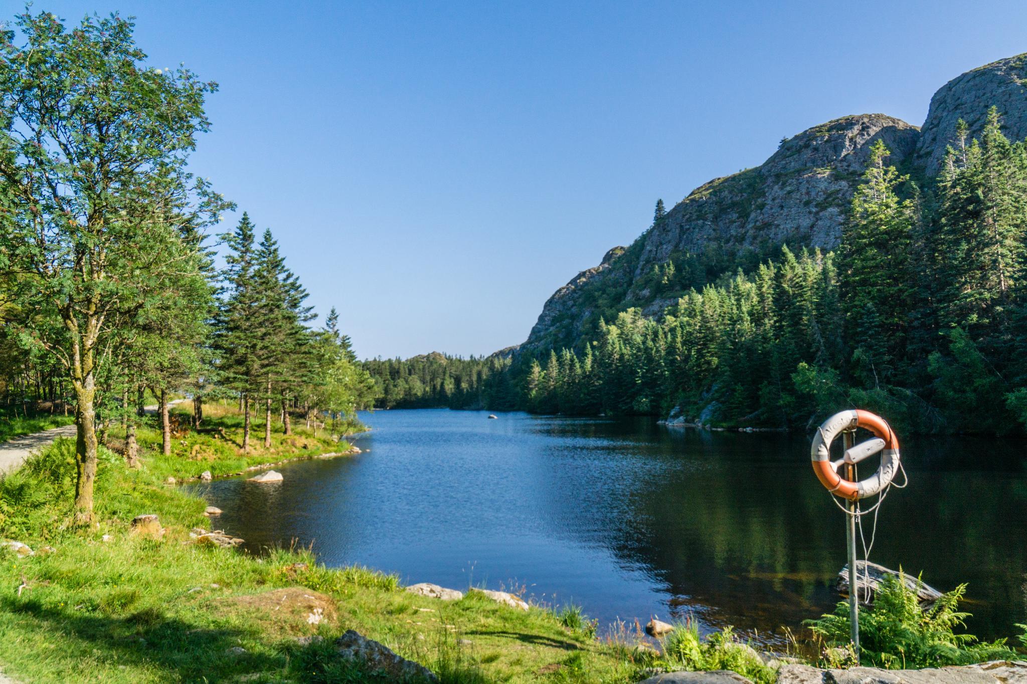 【卑爾根】超級震撼的隱藏版挪威景點 — Stoltzekleiven桑德維克斯石梯與Fløyen佛洛伊恩觀景台大縱走 20