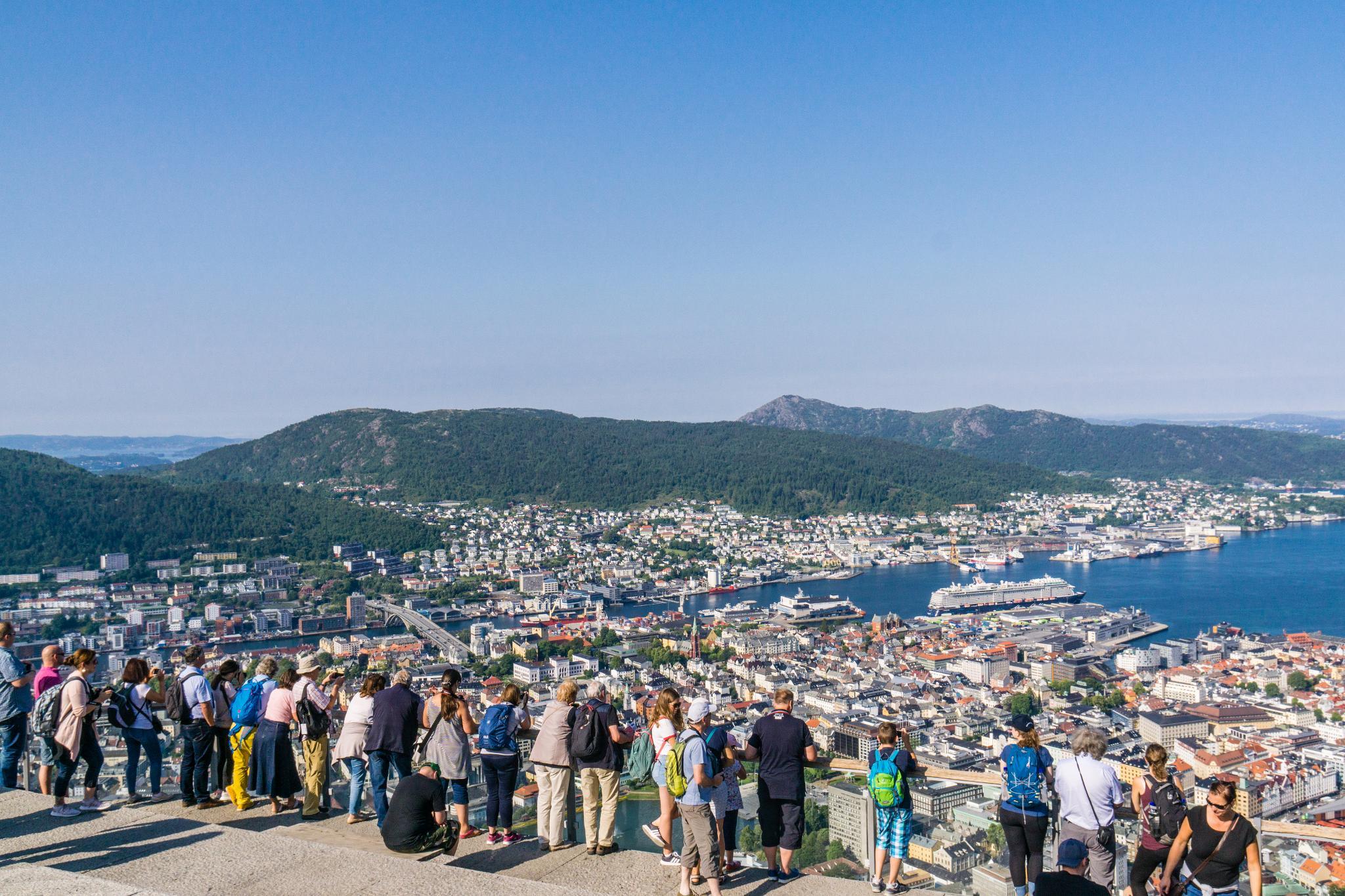【卑爾根】超級震撼的隱藏版挪威景點 — Stoltzekleiven桑德維克斯石梯與Fløyen佛洛伊恩觀景台大縱走 26