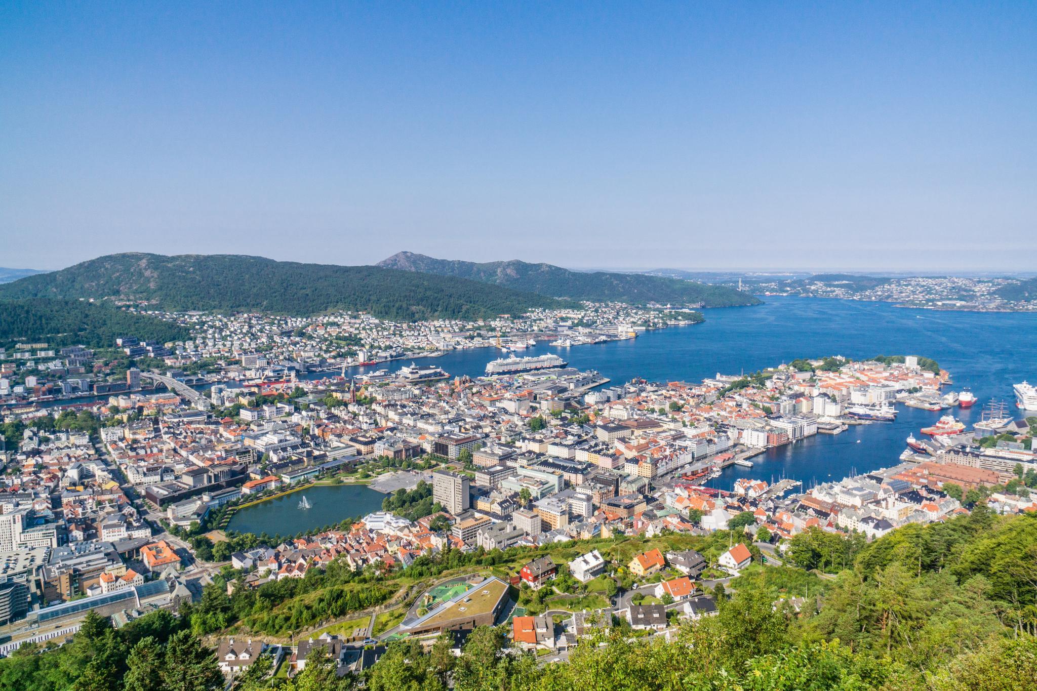 【卑爾根】超級震撼的隱藏版挪威景點 — Stoltzekleiven桑德維克斯石梯與Fløyen佛洛伊恩觀景台大縱走 27