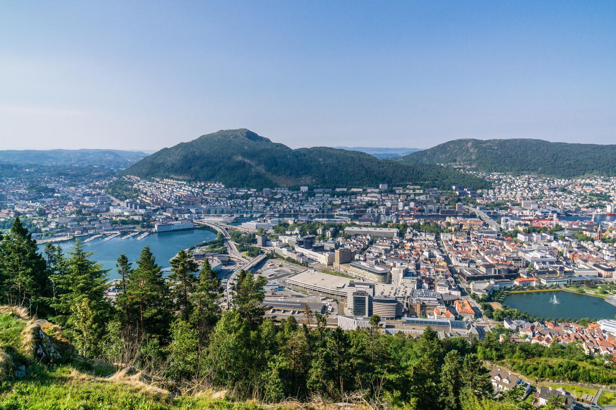 【卑爾根】超級震撼的隱藏版挪威景點 — Stoltzekleiven桑德維克斯石梯與Fløyen佛洛伊恩觀景台大縱走 29