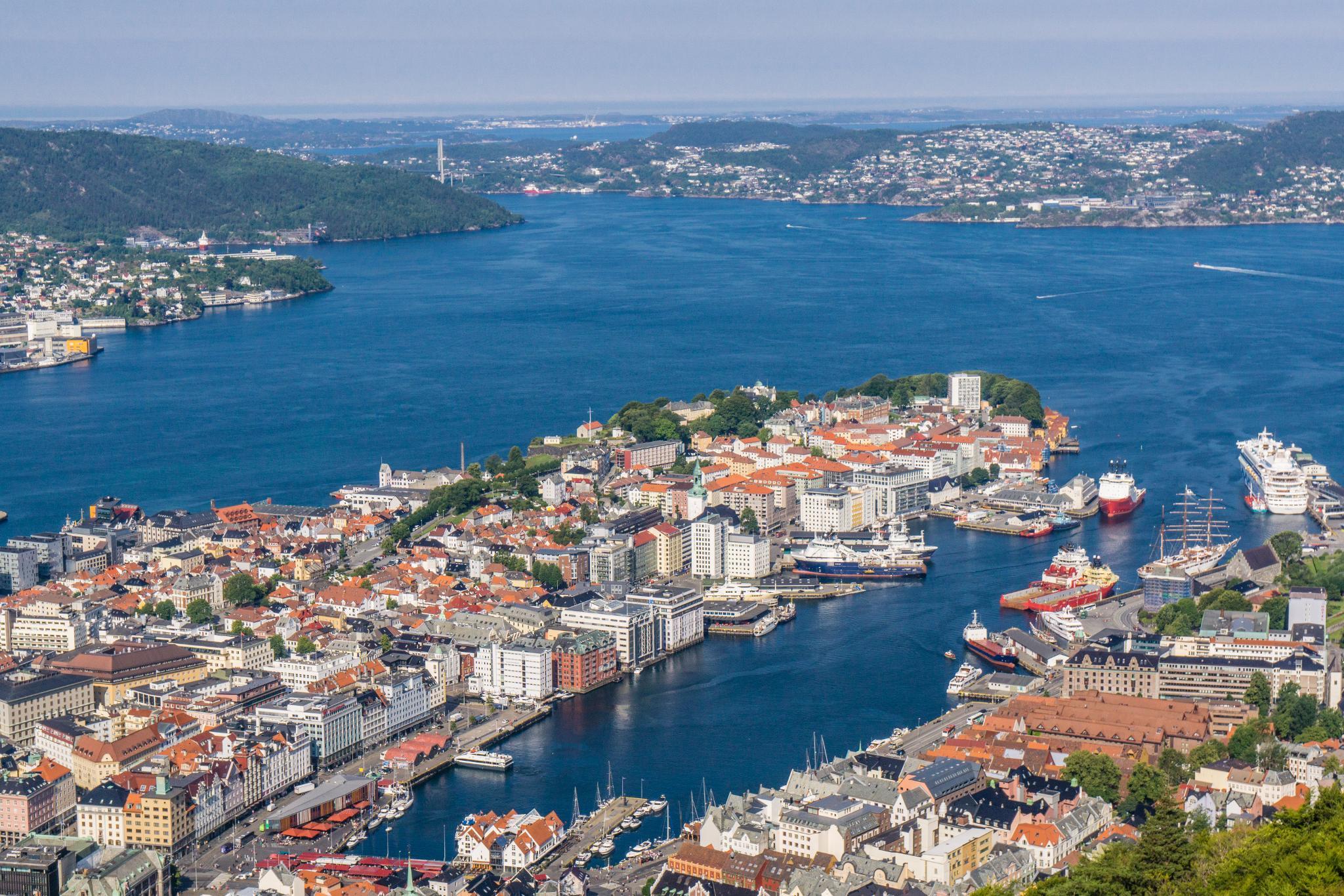 【卑爾根】超級震撼的隱藏版挪威景點 — Stoltzekleiven桑德維克斯石梯與Fløyen佛洛伊恩觀景台大縱走 28