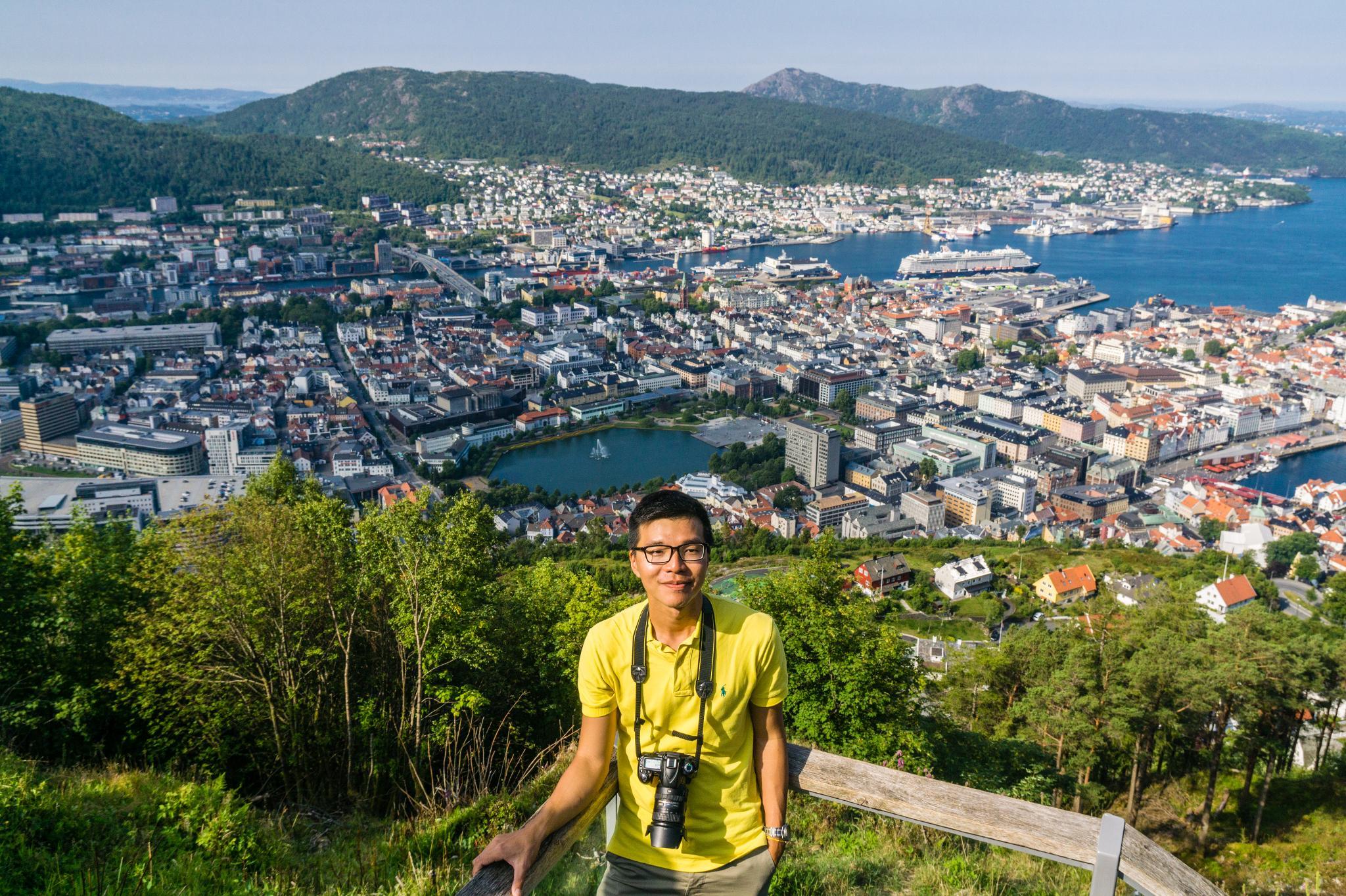 【卑爾根】超級震撼的隱藏版挪威景點 — Stoltzekleiven桑德維克斯石梯與Fløyen佛洛伊恩觀景台大縱走 32