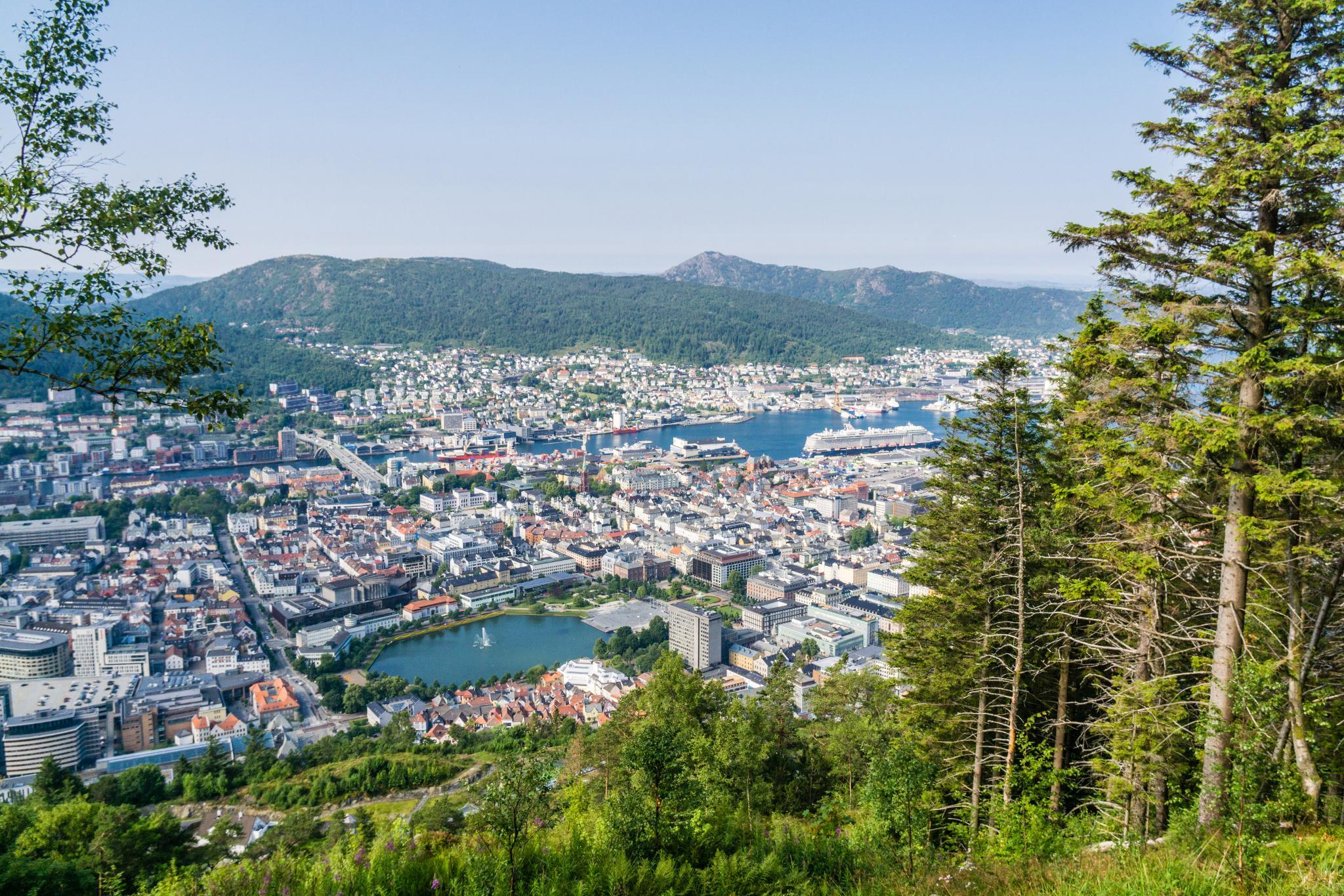 【卑爾根】超級震撼的隱藏版挪威景點 — Stoltzekleiven桑德維克斯石梯與Fløyen佛洛伊恩觀景台大縱走 34